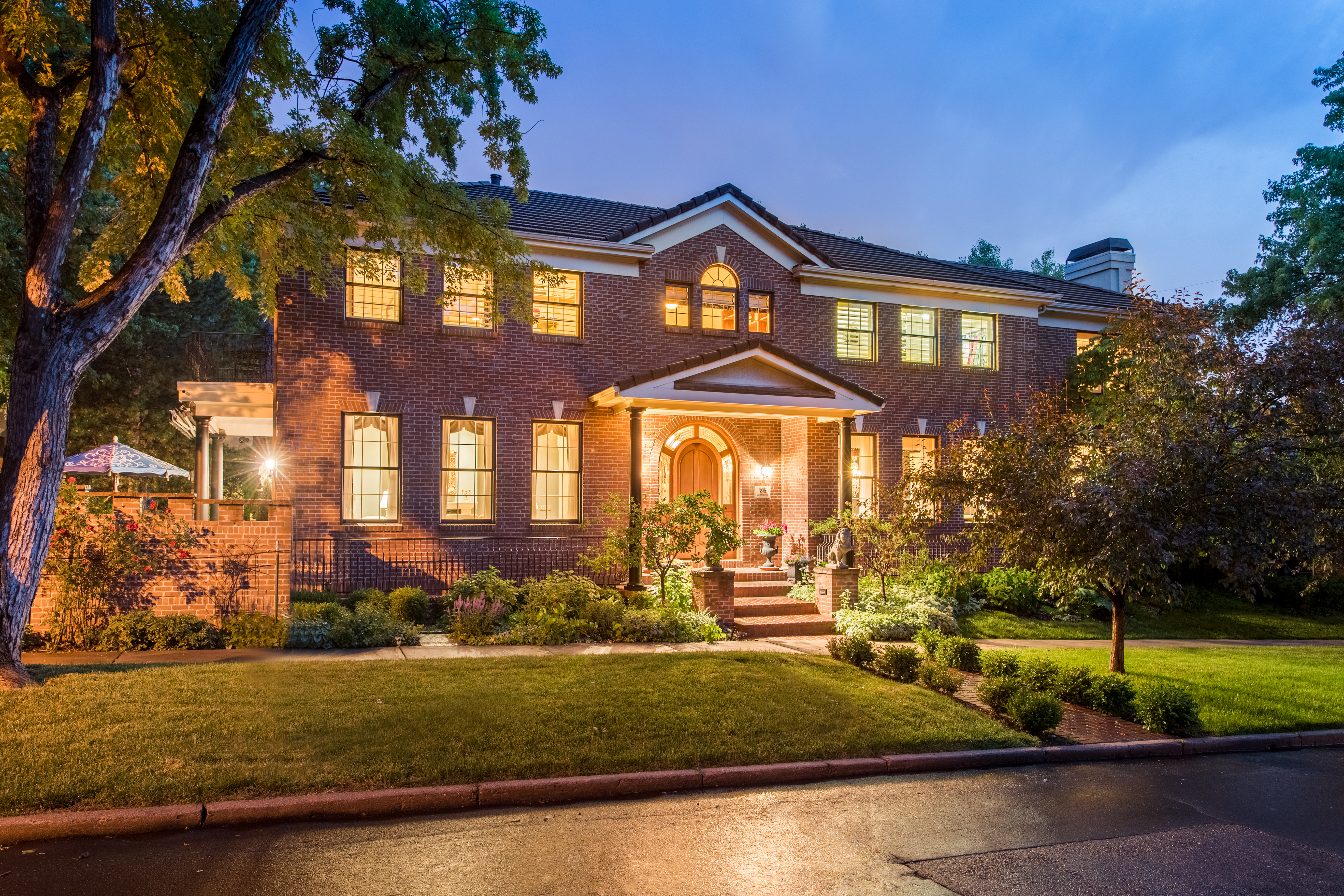 Pictured: 395 Monroe Street is listed for sale by LIV Sotheby's International Realty for $2,375,000.
