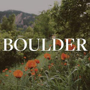 Boulder Report