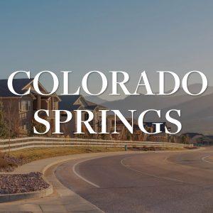 Colorado Springs Report