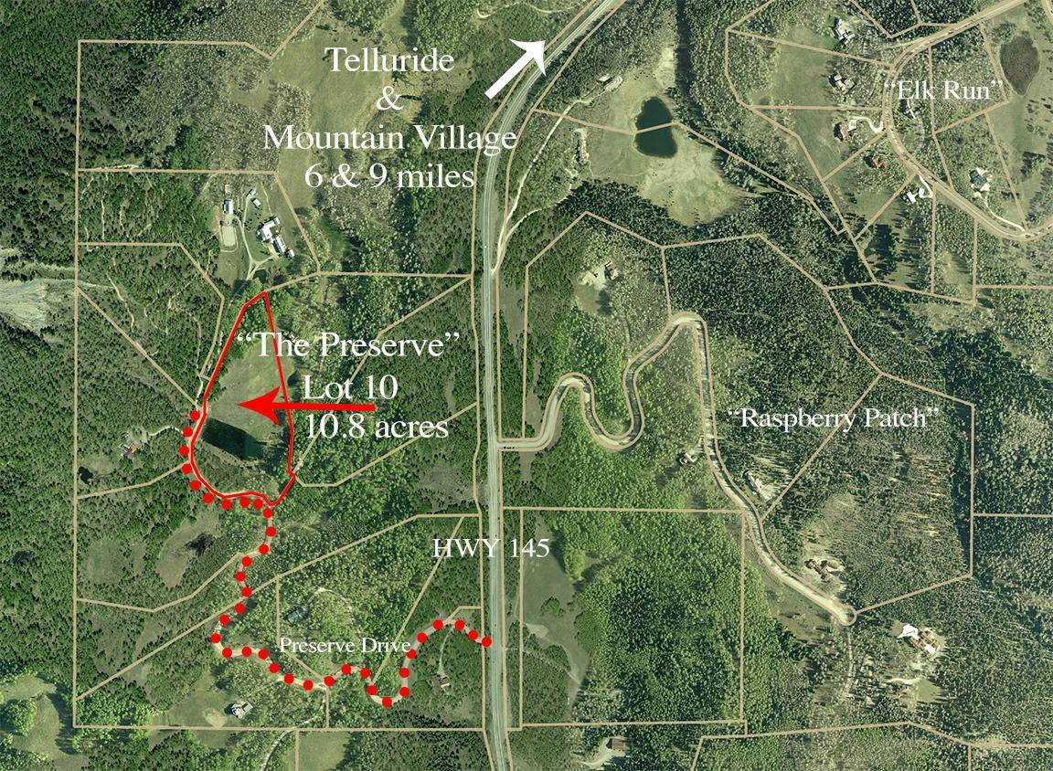 Land for Active at Lot 10 The Preserve Telluride, Colorado 81435 United States