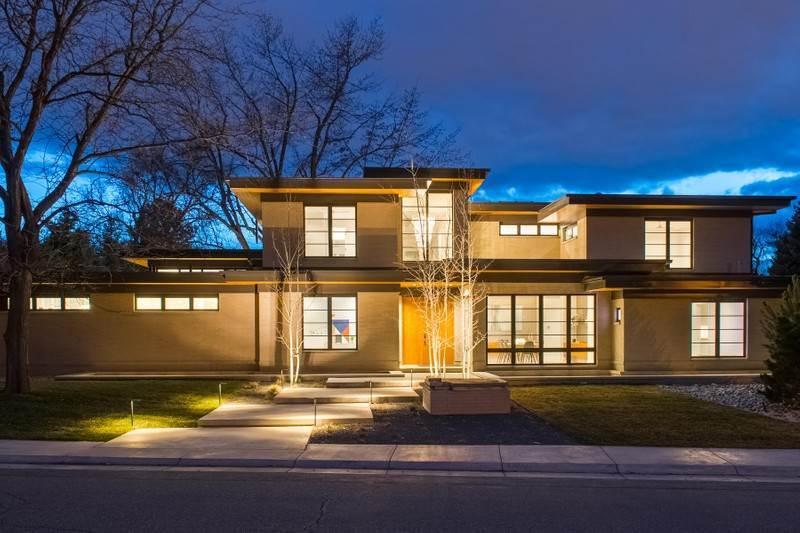 701 south jackson street denver colorado 80209 single for Modern homes in denver