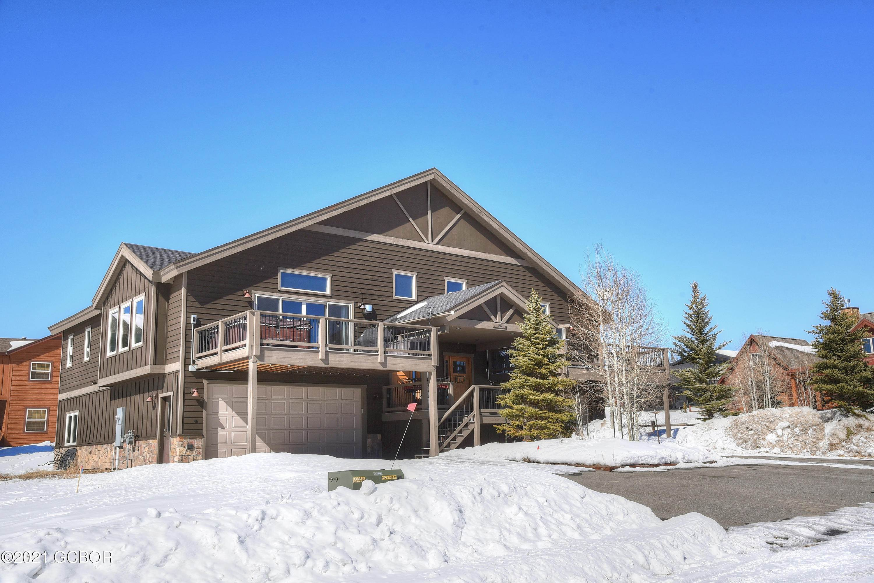 Multi Family for Active at 250 GCR 5222 aka Bergamont Drive Tabernash, Colorado 80478 United States