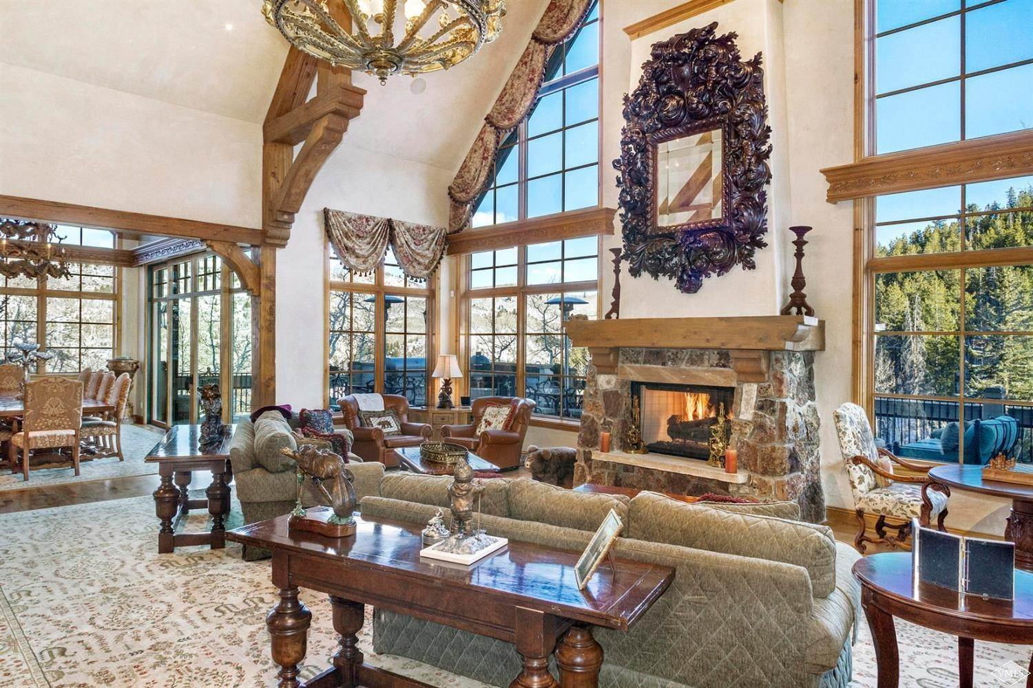 3. Single Family Homes for Active at 22 Strawberry Park Road Beaver Creek, Colorado 81620 United States