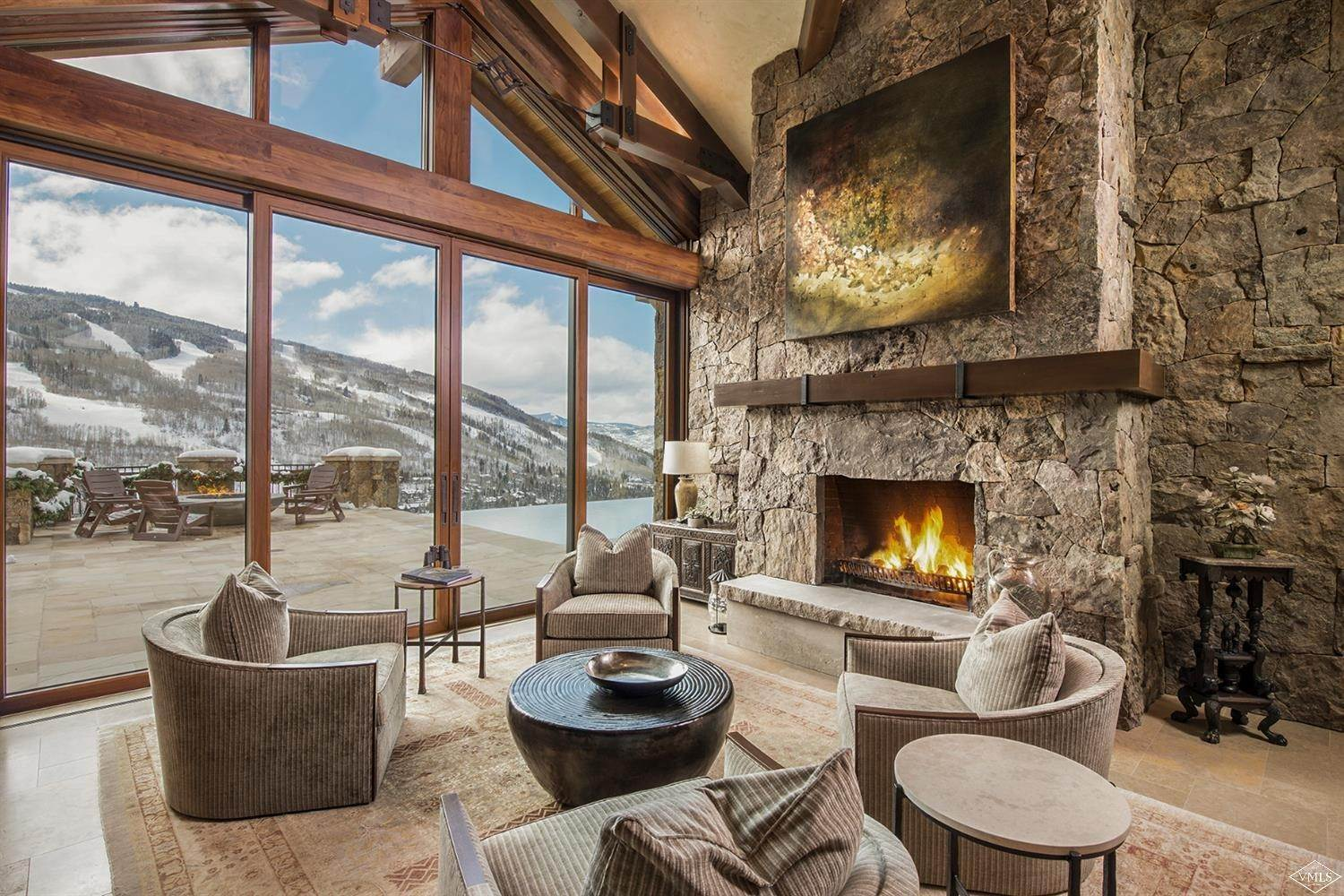 4. Single Family Homes for Active at 1000 Spraddle Creek Road Vail, Colorado 81657 United States