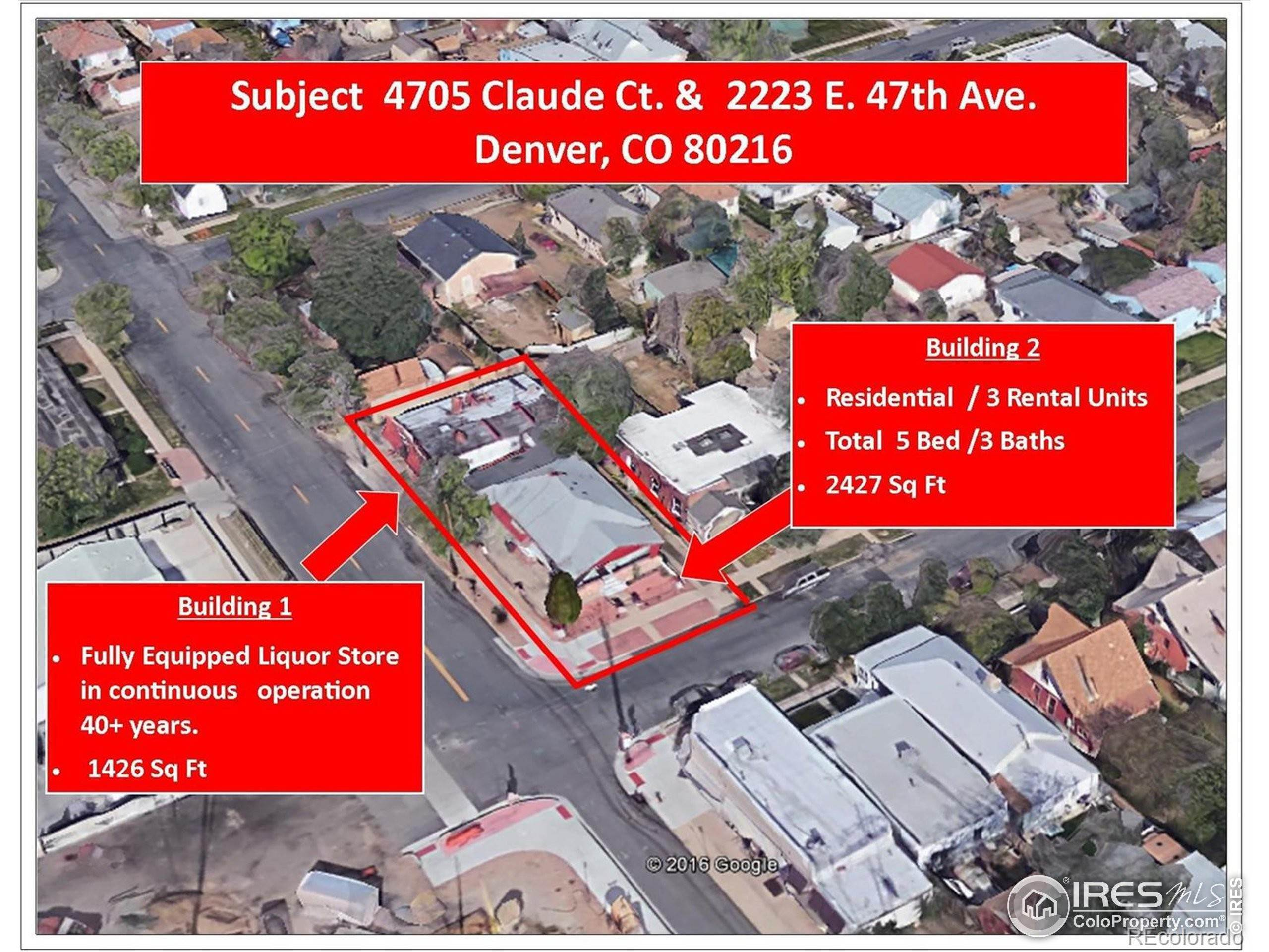 Commercial for Active at 4705 N Claude Court Denver, Colorado 80216 United States