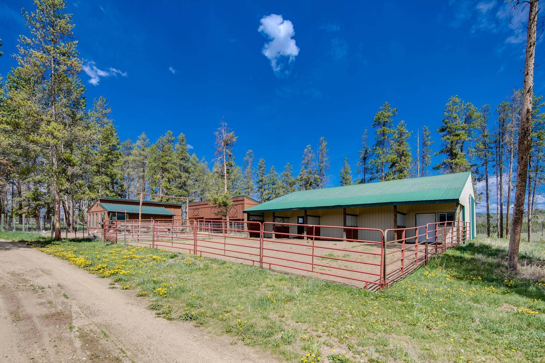 8. Single Family Homes for Active at An Extremely Rare Opportunity In Grand County 3444 County Road 5 Fraser, Colorado 80442 United States