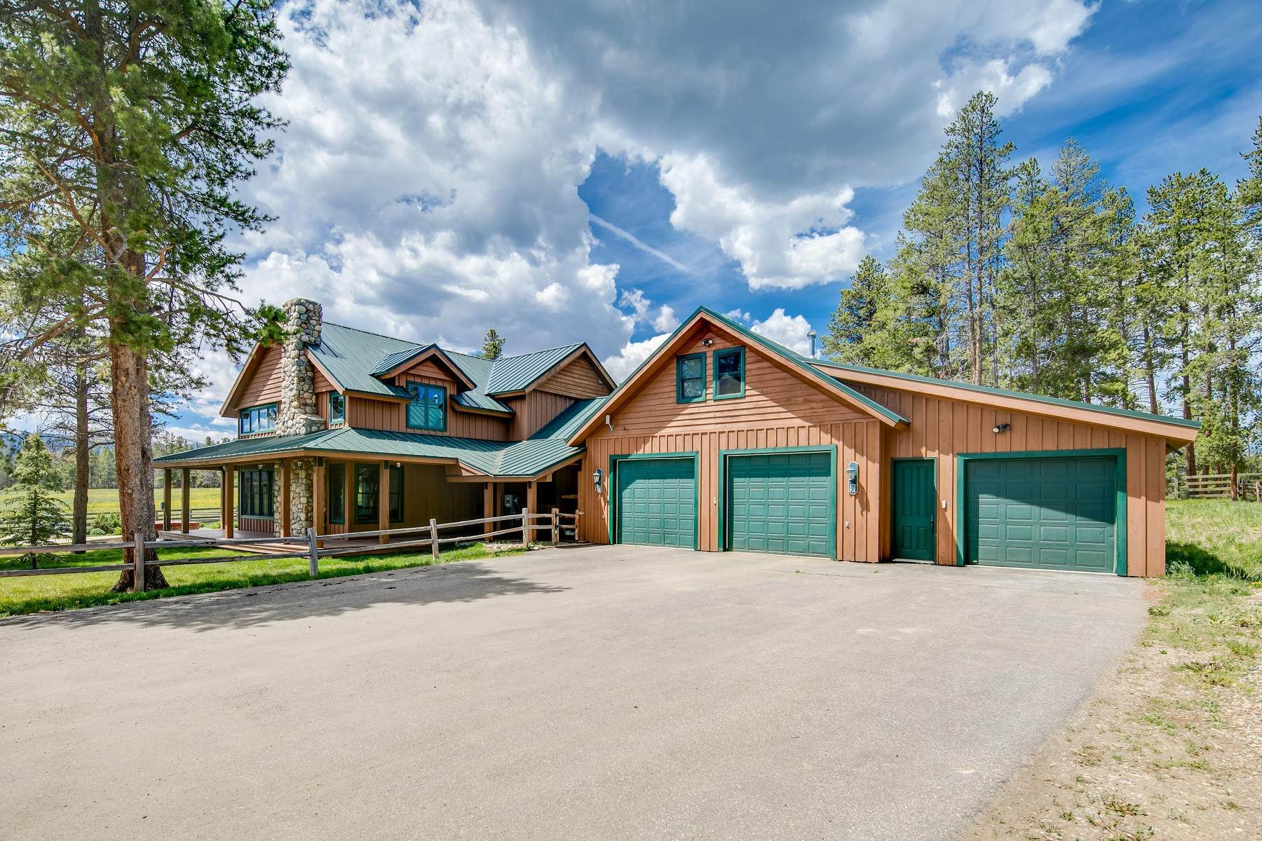 25. Single Family Homes for Active at An Extremely Rare Opportunity In Grand County 3444 County Road 5 Fraser, Colorado 80442 United States