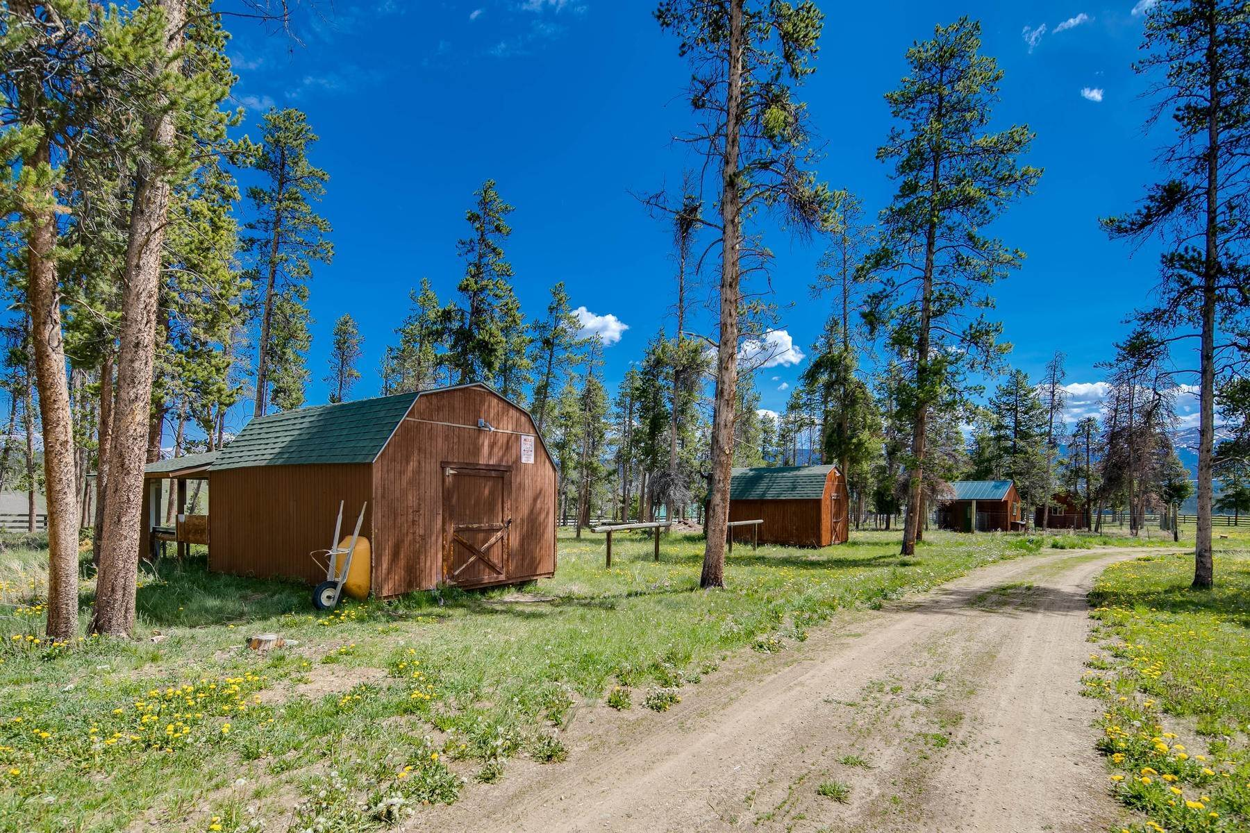 34. Single Family Homes for Active at An Extremely Rare Opportunity In Grand County 3444 County Road 5 Fraser, Colorado 80442 United States