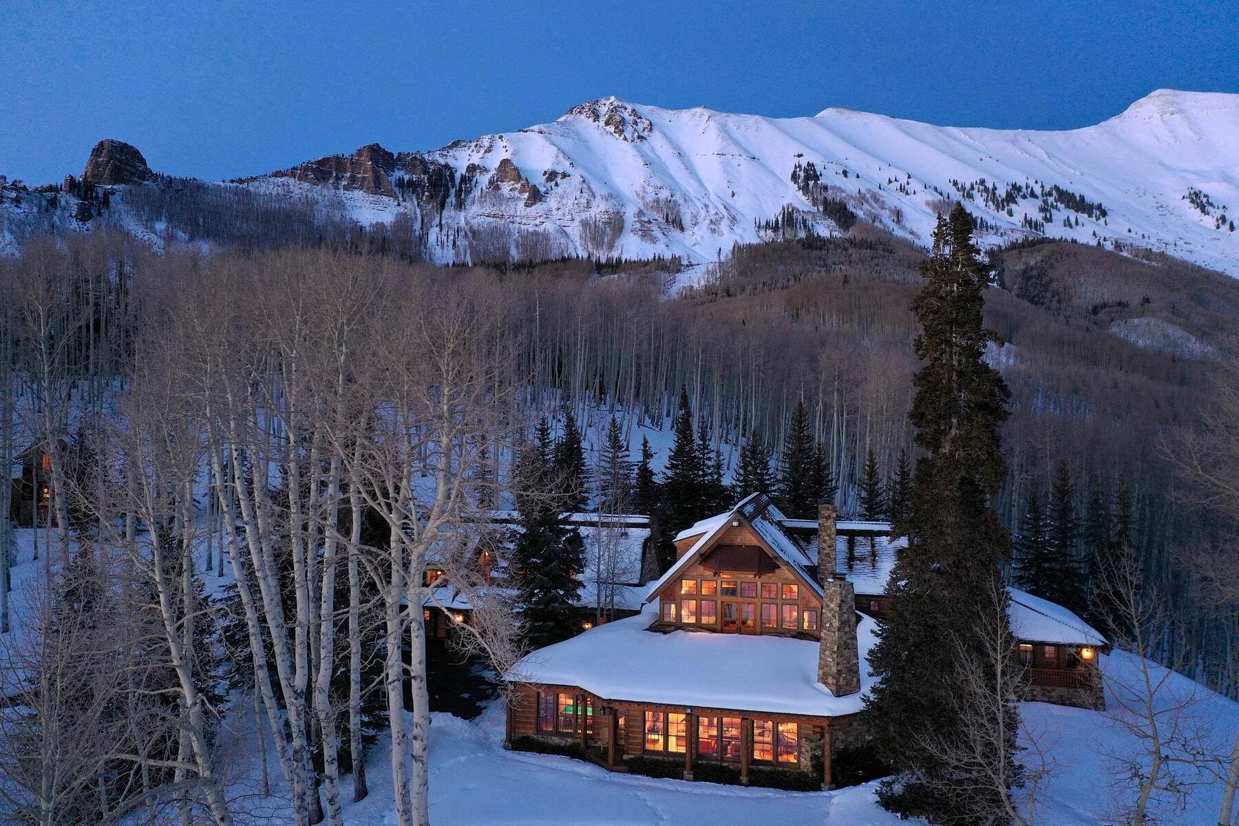 4. Single Family Homes for Active at Luxury Meets Legend 115 Francisco Way Telluride, Colorado 81435 United States