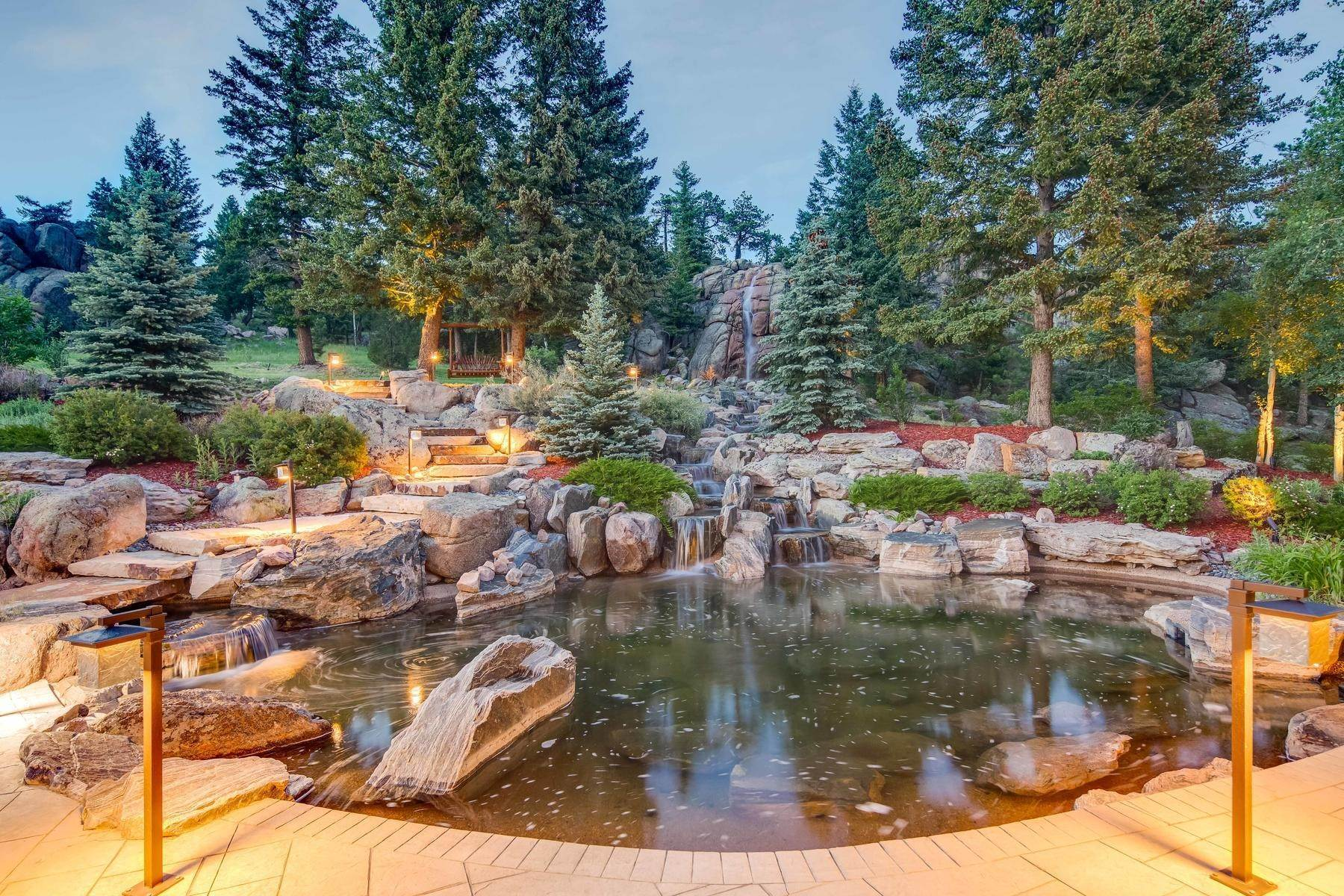 36. Single Family Homes for Active at This Luxurious Estate is More of a Lifestyle Choice, 6917 Timbers Drive Evergreen, Colorado 80439 United States