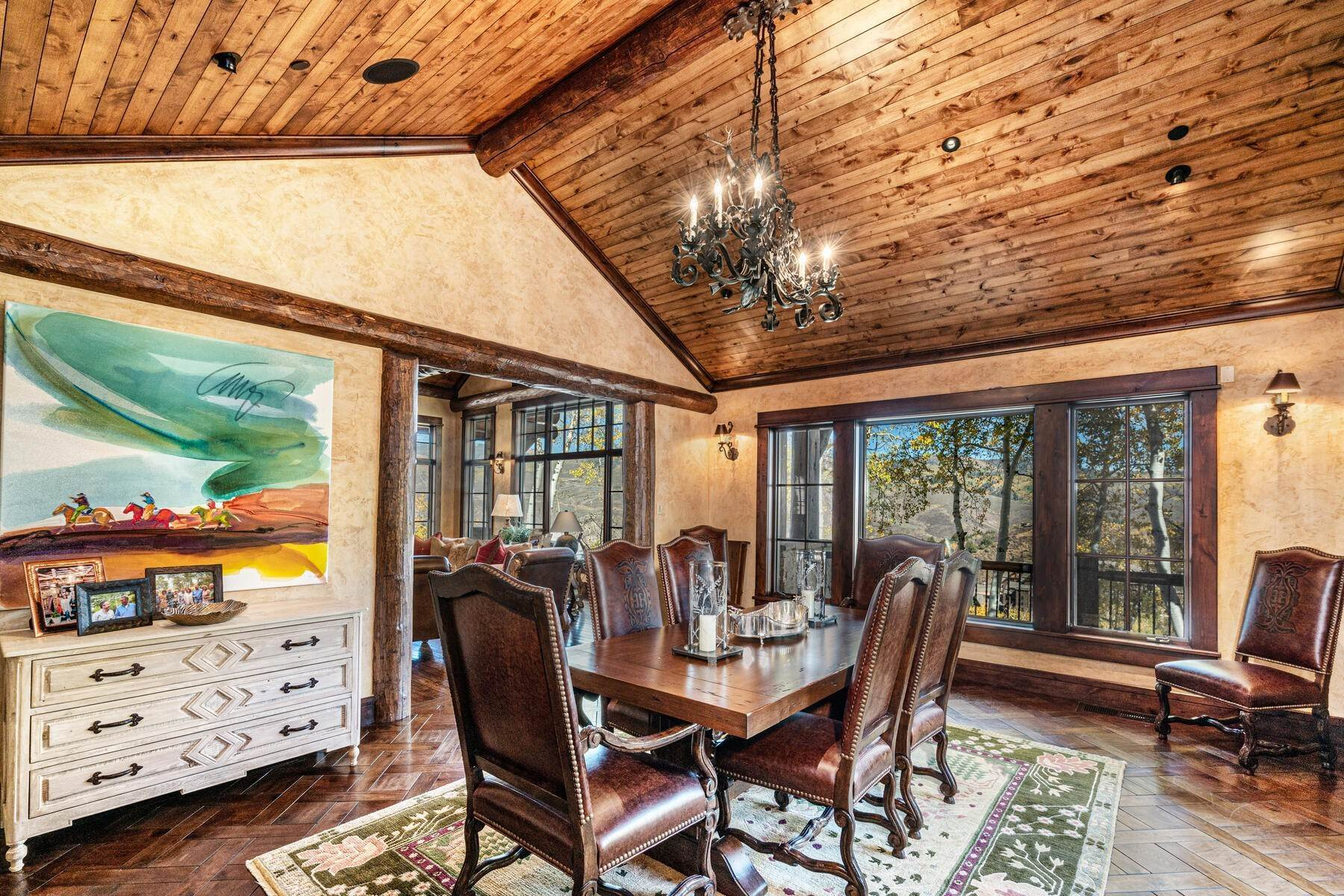 17. Single Family Homes for Active at Ski-in, ski-out residence with panoramic views 602 Bachelor Ridge Road Beaver Creek, Colorado 81620 United States