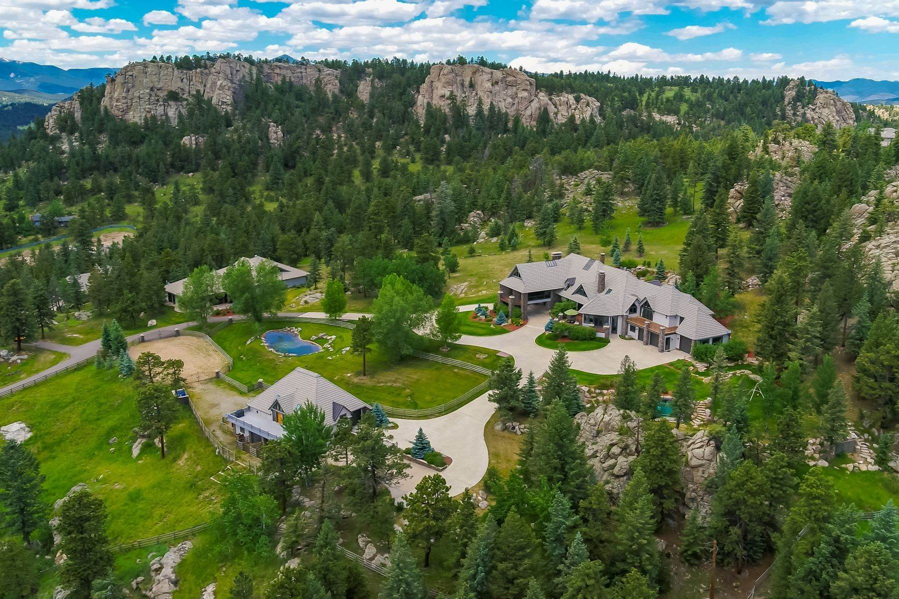 2. Single Family Homes for Active at This Luxurious Estate is More of a Lifestyle Choice, 6917 Timbers Drive Evergreen, Colorado 80439 United States