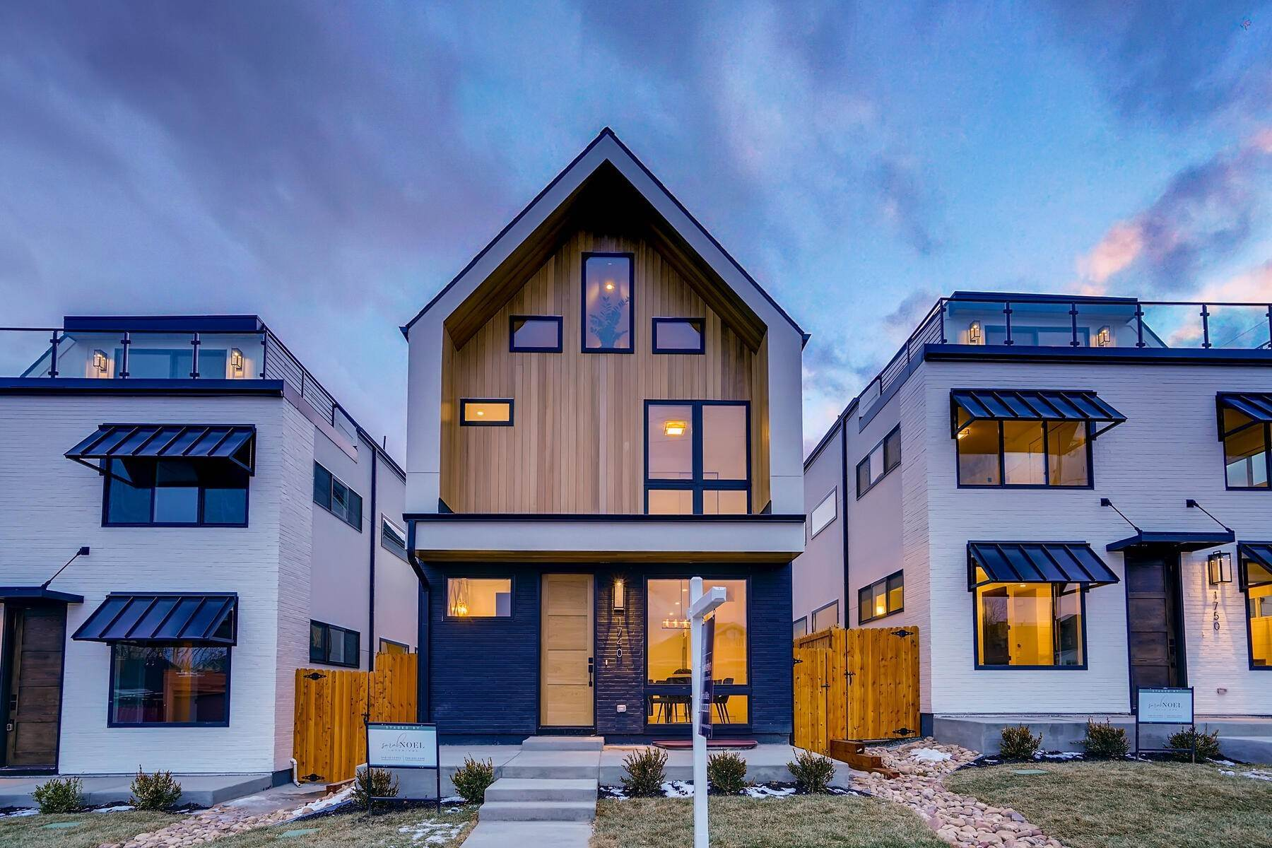 Single Family Homes for Active at New Custom Brick Home In LoHi 1740 W 37th Avenue Denver, Colorado 80211 United States