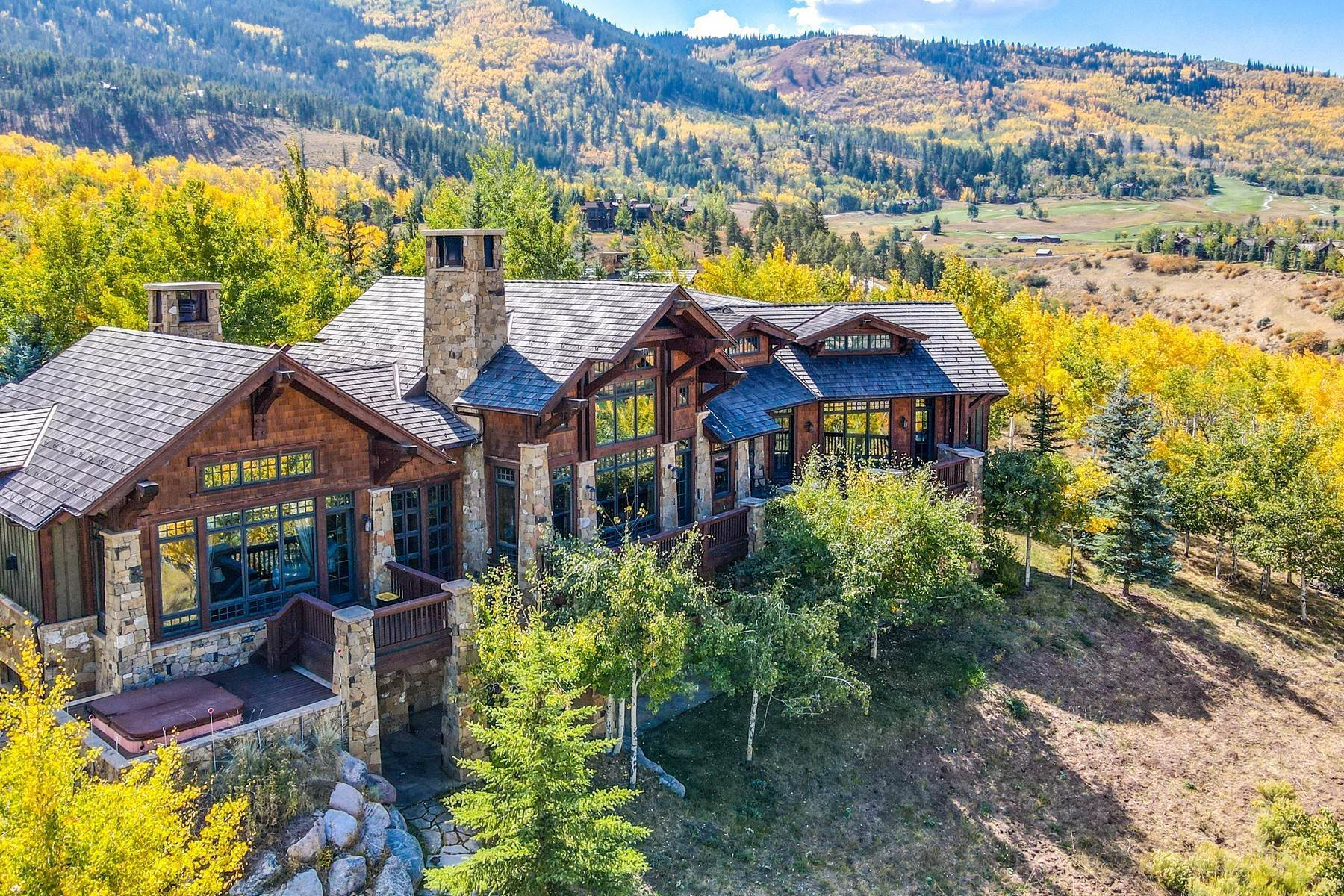 Single Family Homes for Active at A magnificent luxury residence 292 Aspen Meadows Road Edwards, Colorado 81632 United States