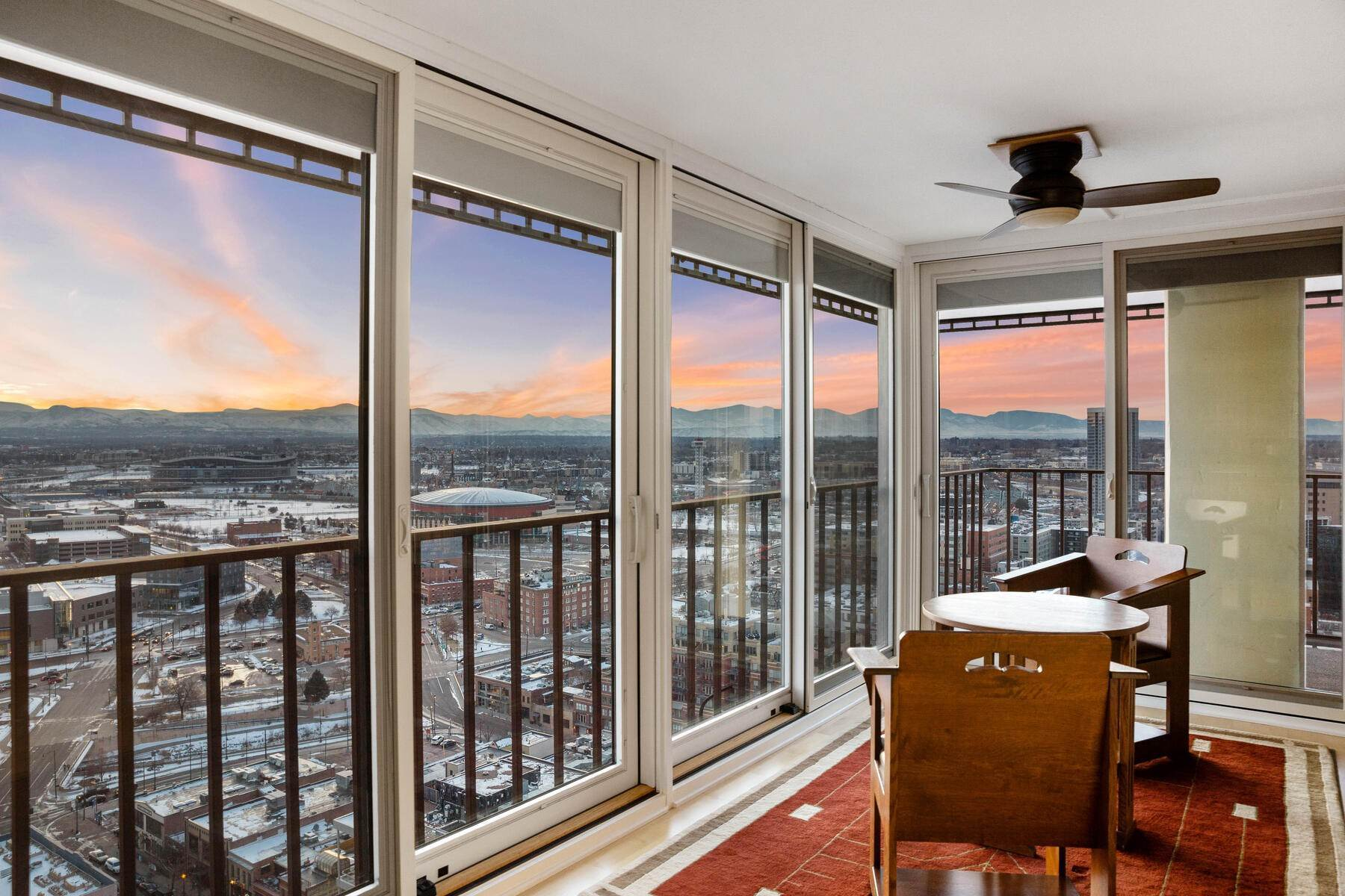 27. Condominiums at IMPRESSIVE FOREVER VIEWS HIGH ATOP THE CITY 1551 Larimer Street Unit #2701C Denver, Colorado 80202 United States