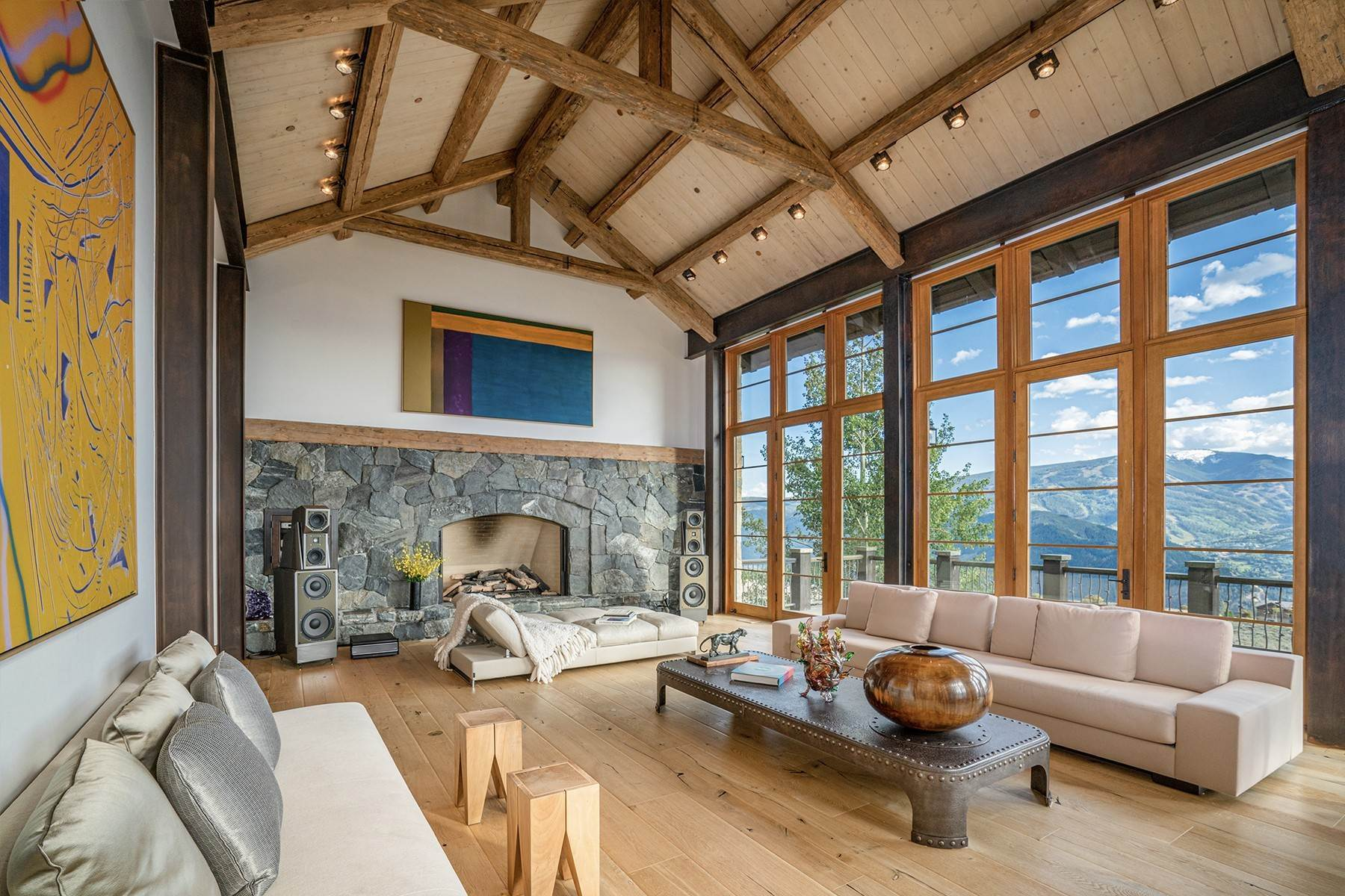 4. Single Family Homes for Active at Modern Mountaintop Luxury with Spectacular Views 587 Paintbrush Avon, Colorado 81620 United States