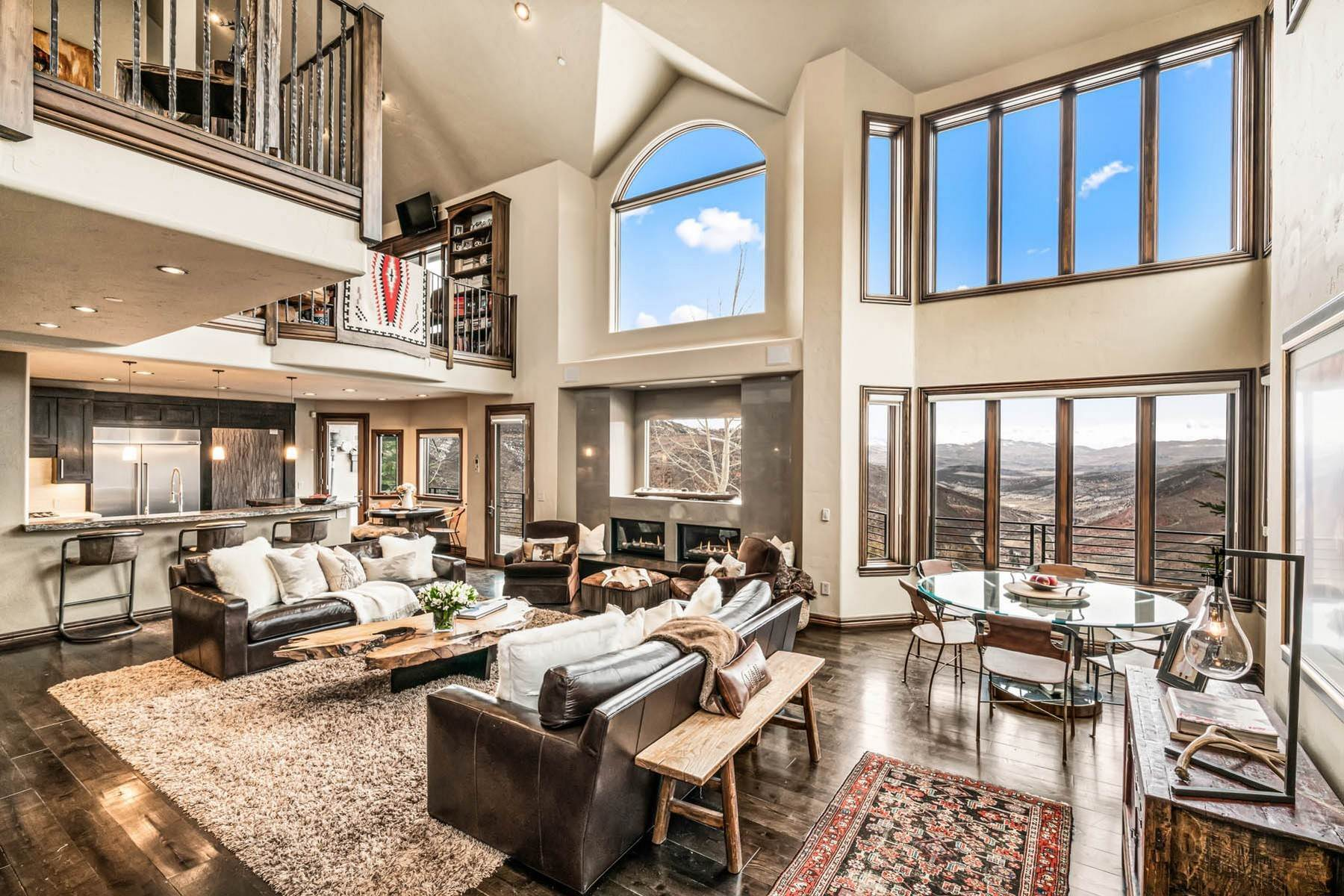 5. Single Family Homes for Active at Situated atop Casteel Ridge 240 Casteel Ridge Edwards, Colorado 81632 United States