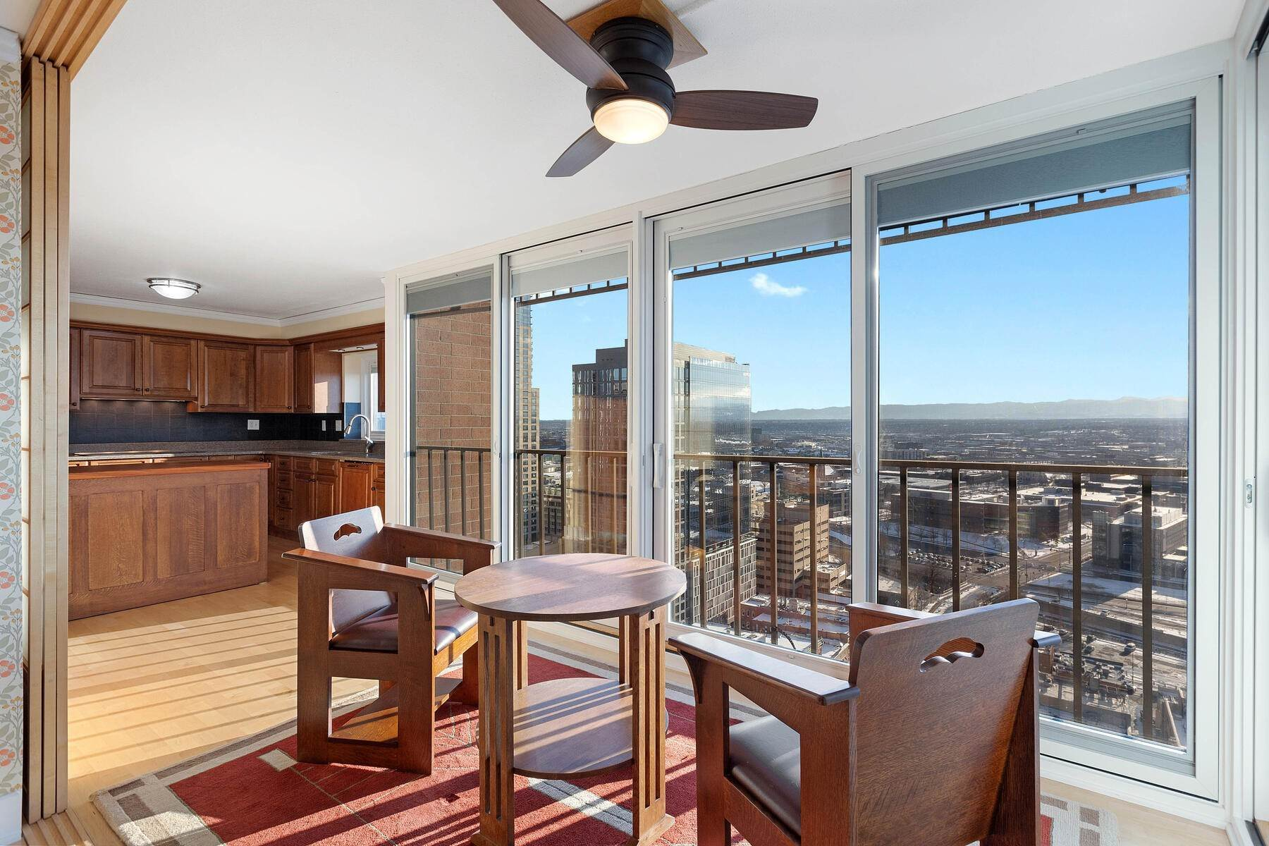7. Condominiums at IMPRESSIVE FOREVER VIEWS HIGH ATOP THE CITY 1551 Larimer Street Unit #2701C Denver, Colorado 80202 United States