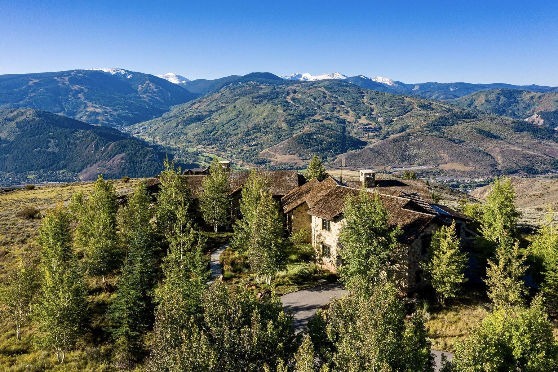 43. Single Family Homes for Active at Modern Mountaintop Luxury with Spectacular Views 587 Paintbrush Avon, Colorado 81620 United States