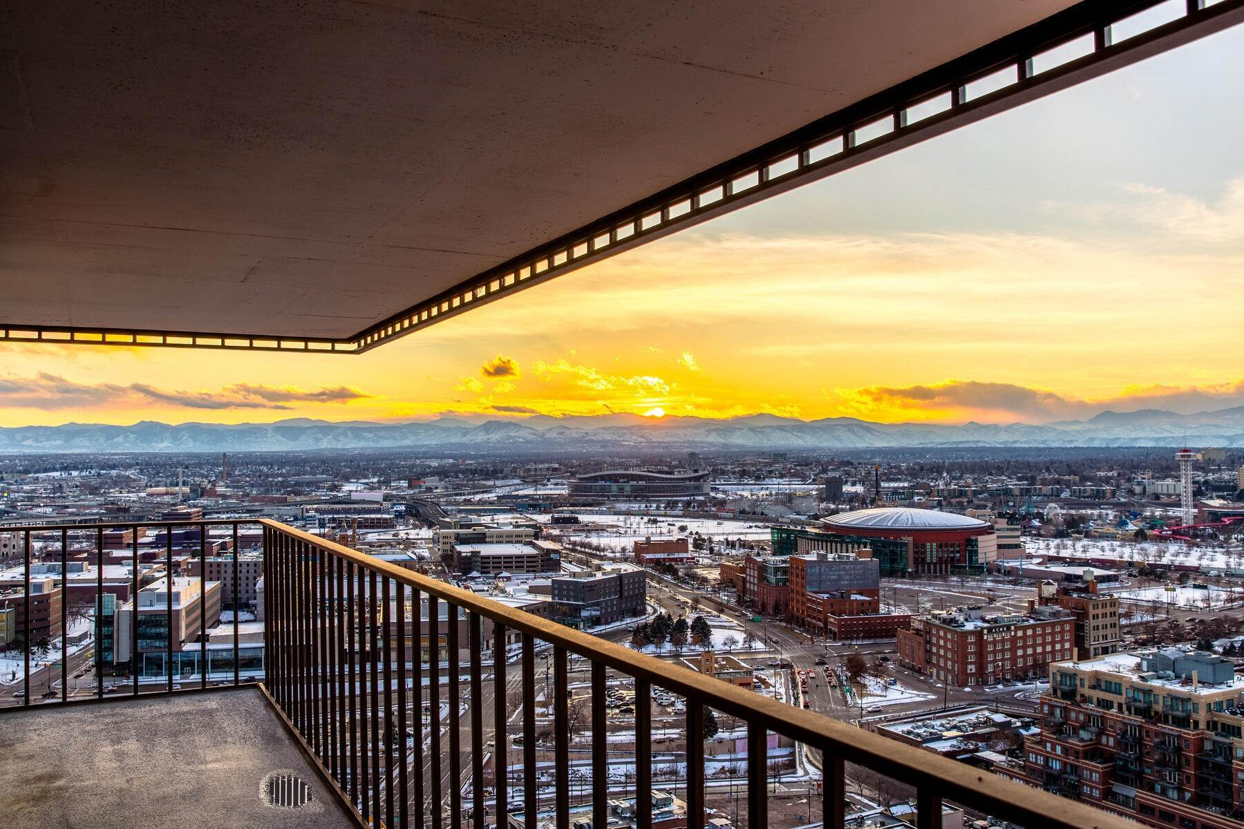 2. Condominiums at IMPRESSIVE FOREVER VIEWS HIGH ATOP THE CITY 1551 Larimer Street Unit #2701C Denver, Colorado 80202 United States