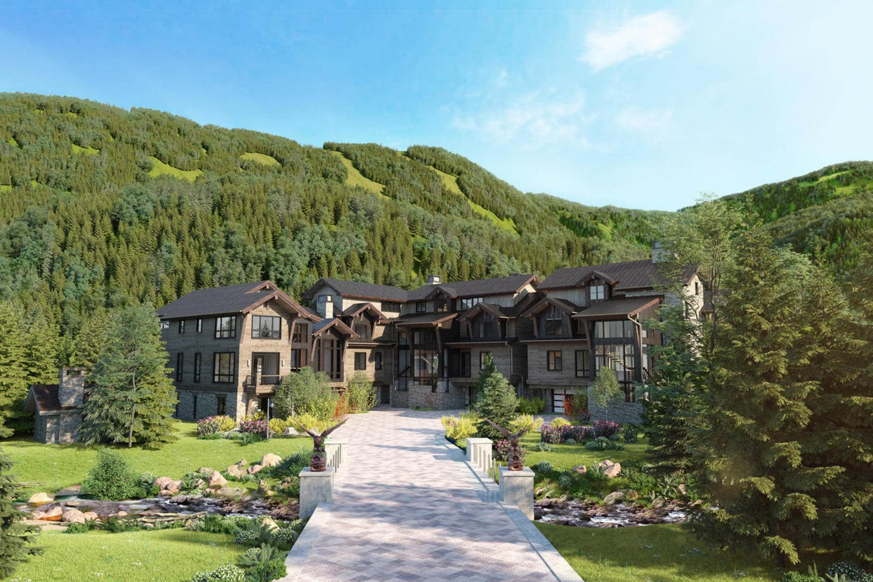 4. Duplex Homes for Active at Peregrine Villas 187 Elk Track Road Beaver Creek, Colorado 81620 United States