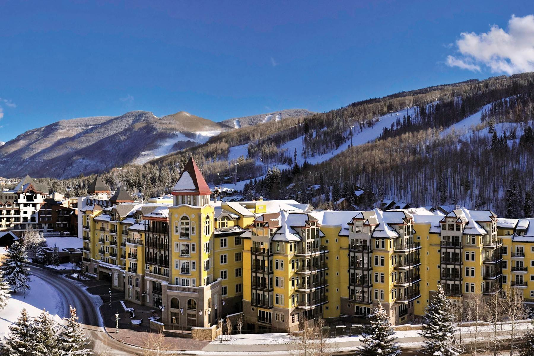 Condominiums for Active at The Ritz-Carlton Residences #R-6 728 West Lionshead Circle #R-6 Vail, Colorado 81657 United States