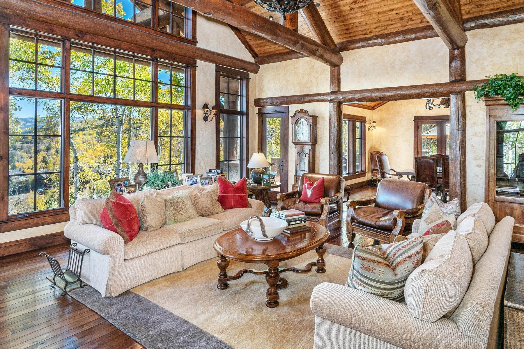15. Single Family Homes for Active at Ski-in, ski-out residence with panoramic views 602 Bachelor Ridge Road Beaver Creek, Colorado 81620 United States