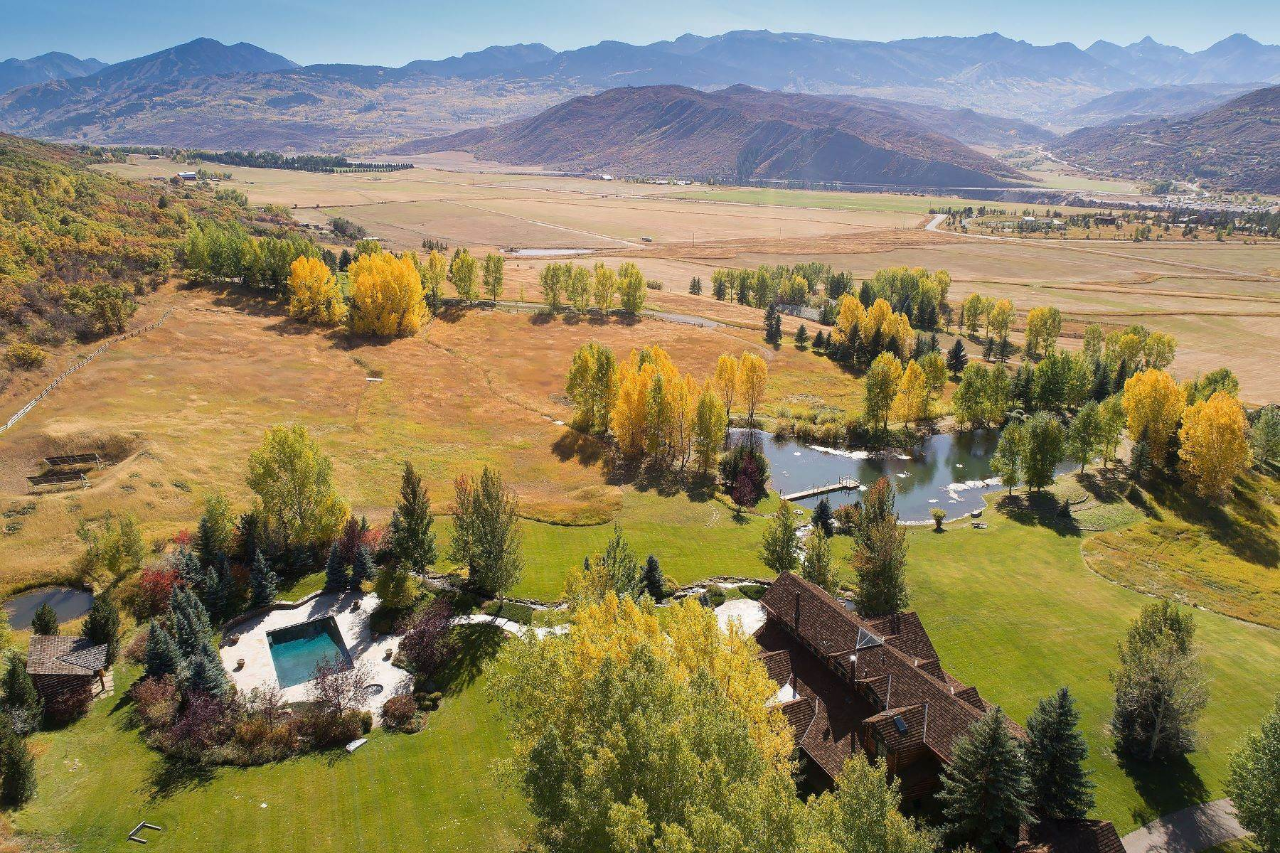 Farm and Ranch Properties for Active at Classic Colorado Getaway 200 Yellow Fox Lane Aspen, Colorado 81611 United States