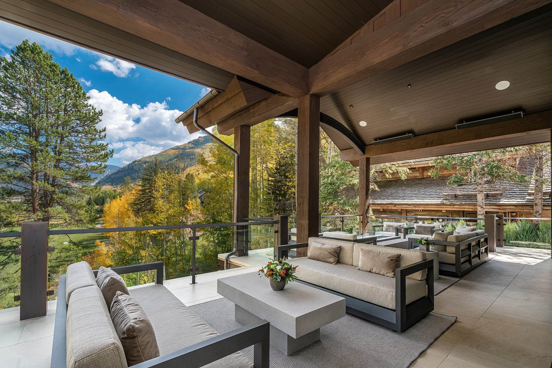 6. Single Family Homes for Active at Legendary Mountain Living 1183 Cabin Circle Vail, Colorado 81657 United States
