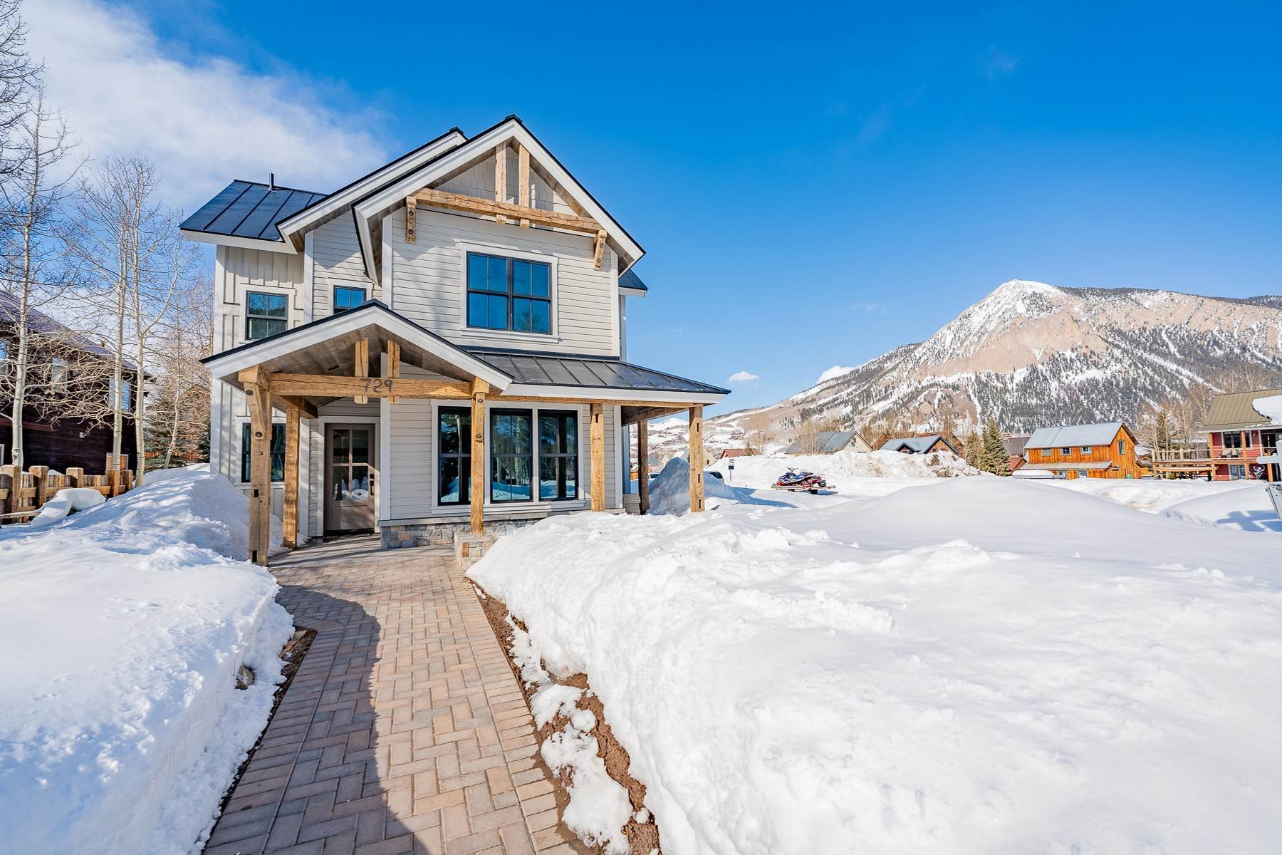 Property for Active at Outstanding New Five-Bedroom Home in Crested Butte 729 Whiterock Avenue Crested Butte, Colorado 81224 United States