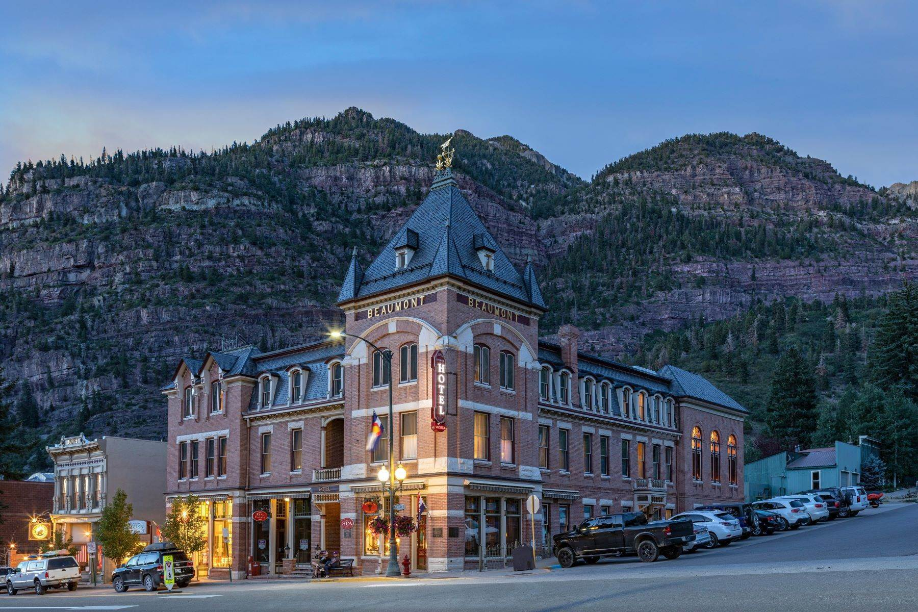 Single Family Homes for Active at The Beaumont Hotel 505 Main Street Ouray, Colorado 81427 United States