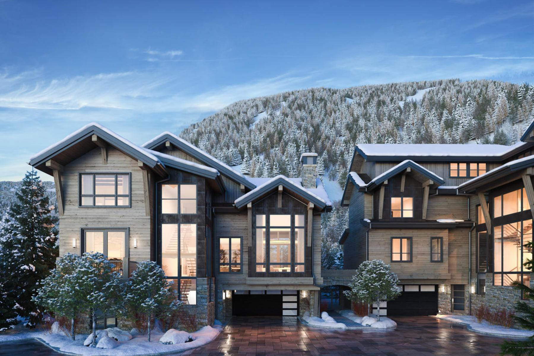 Duplex Homes for Active at Peregrine Villas 187 Elk Track Road Beaver Creek, Colorado 81620 United States