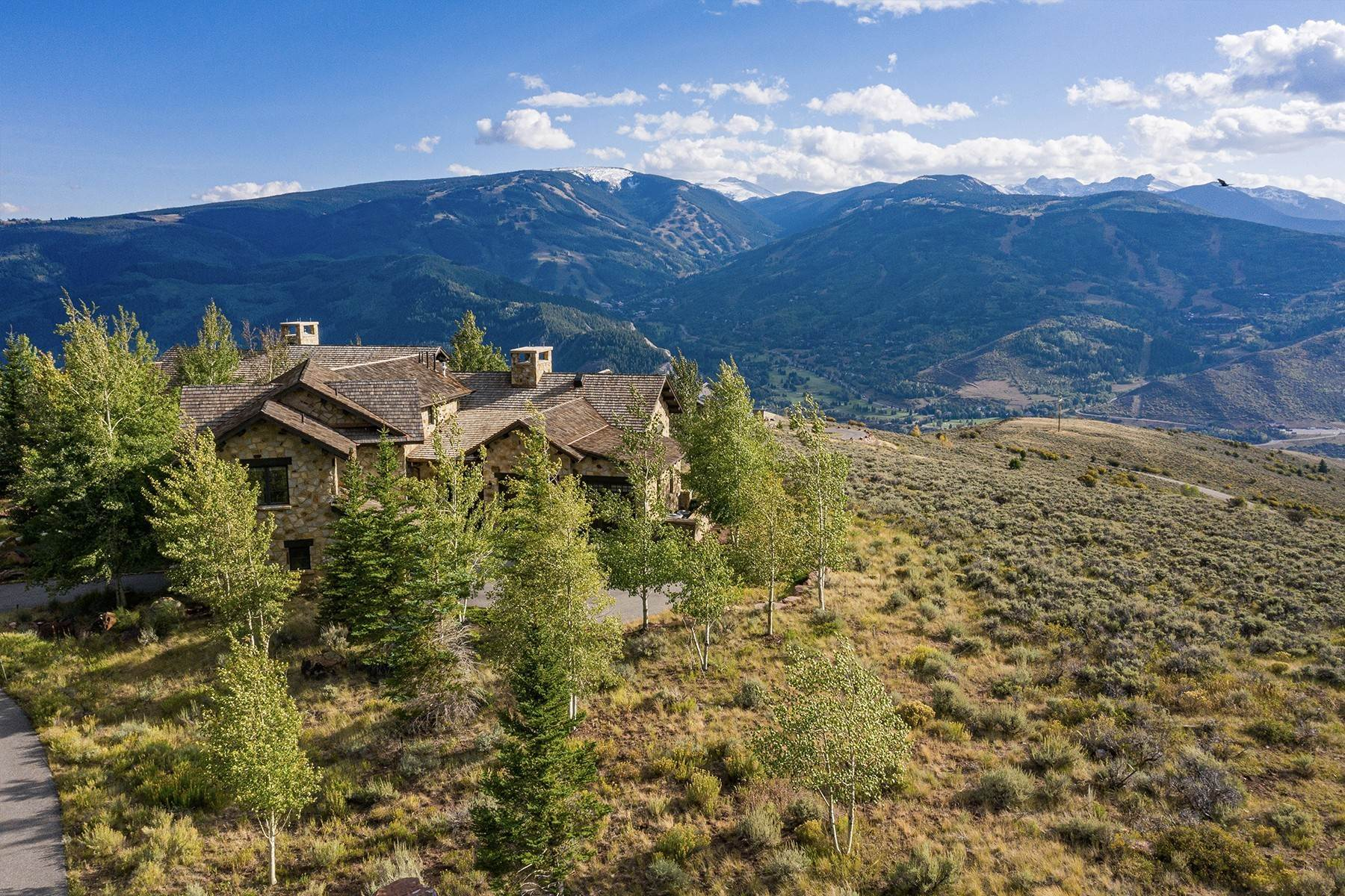 44. Single Family Homes for Active at Modern Mountaintop Luxury with Spectacular Views 587 Paintbrush Avon, Colorado 81620 United States