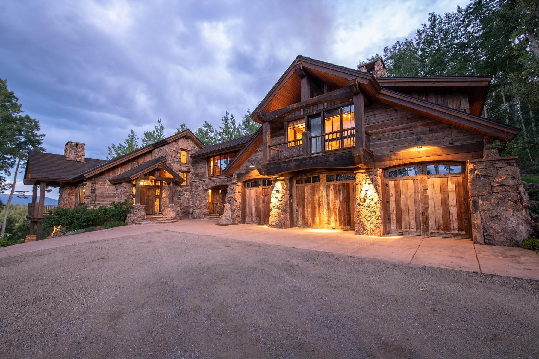 Single Family Homes for Active at Breathtaking Home in Red Mountain Ranch 1515 Red Mountain Ranch Road Crested Butte, Colorado 81224 United States