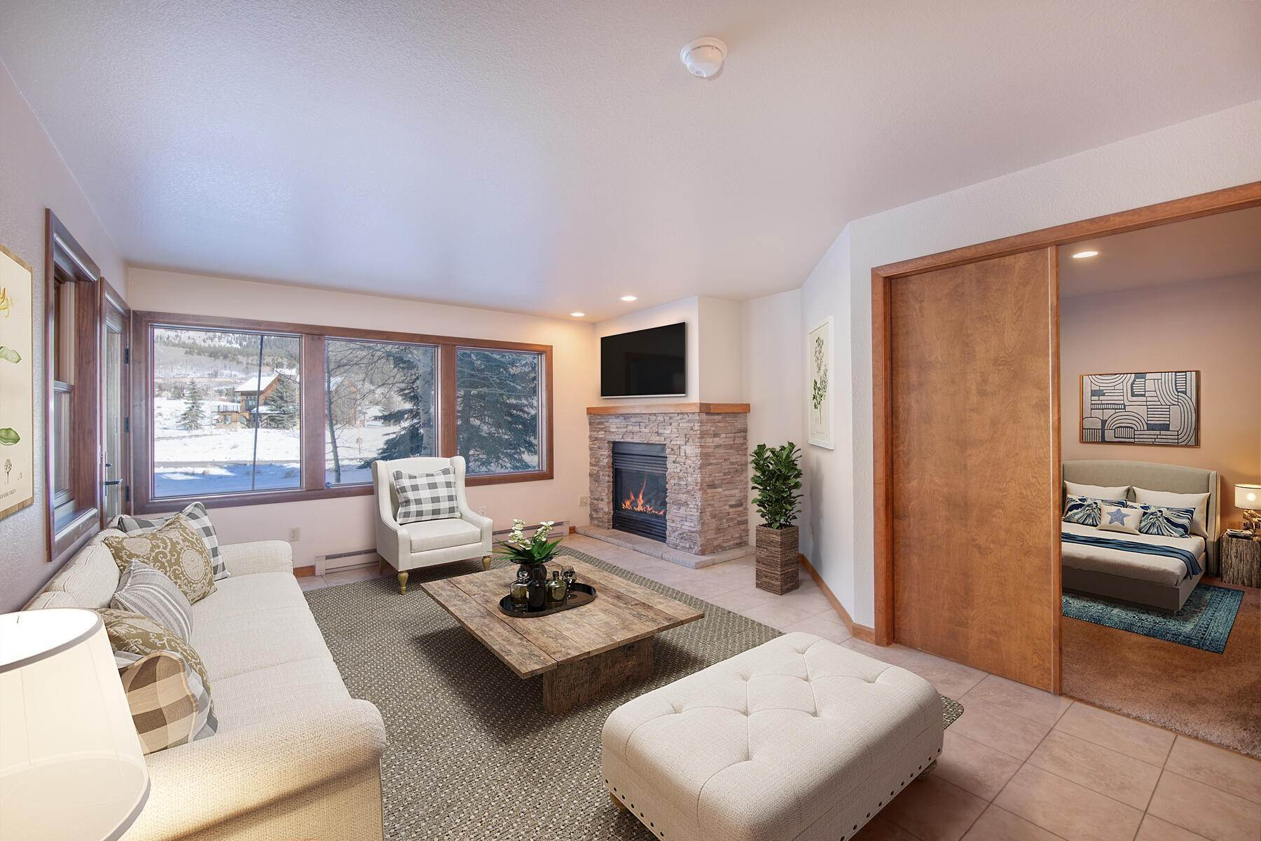 Condominiums for Active at Beautiful, Bright Ground-Floor 2-Bedroom Unit 251 Slate River Drive, Unit 2 Crested Butte, Colorado 81224 United States