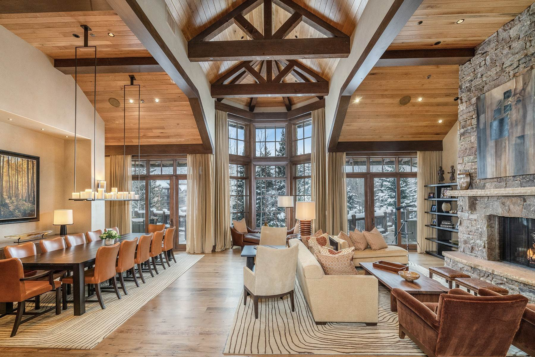 3. Single Family Homes for Active at Coveted Ski-In/Ski-Out in Vail 615 Forest Place Vail, Colorado 81657 United States