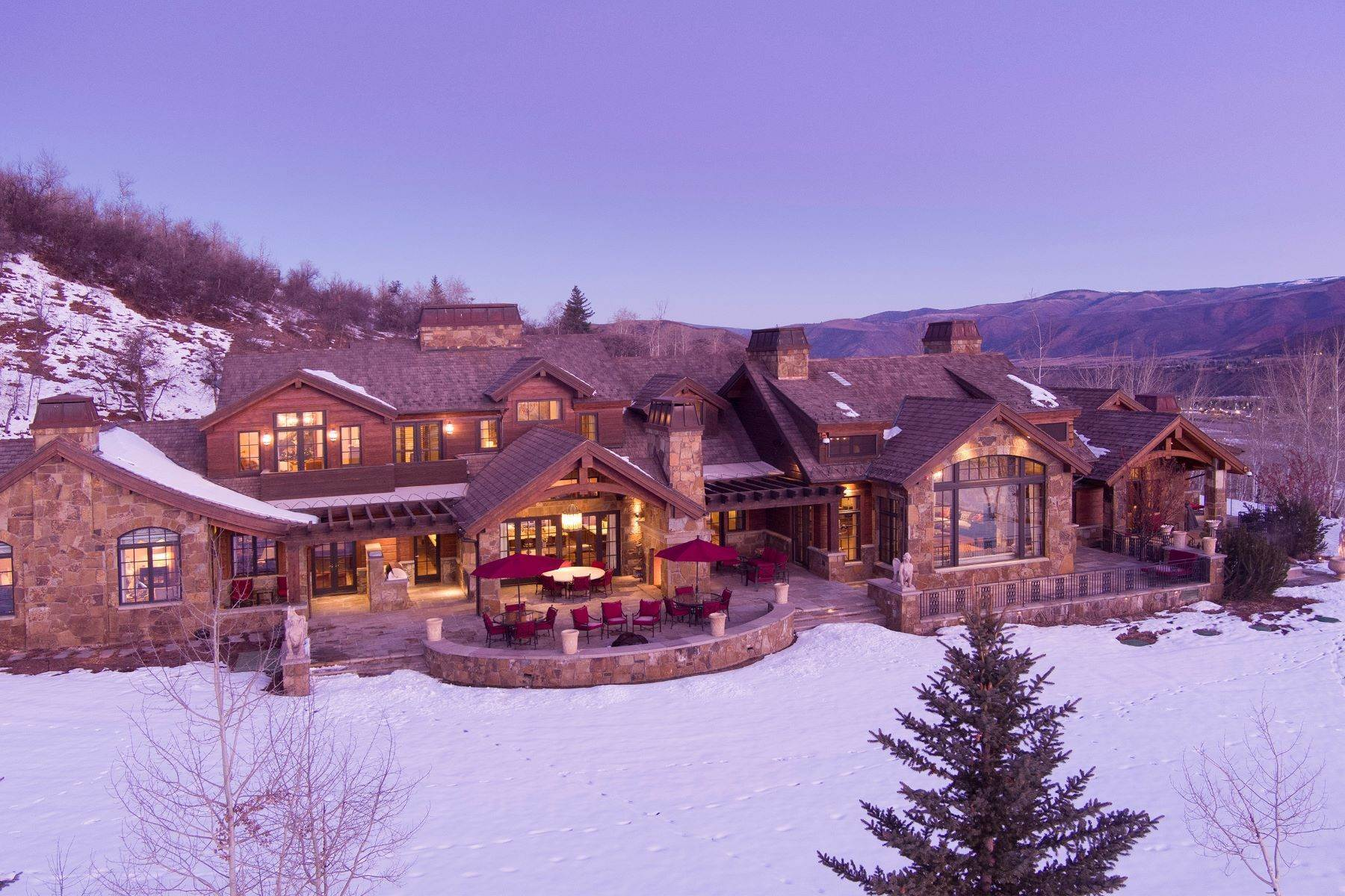 Single Family Homes for Active at Talk About Ski-In/Ski-Out! 220 Buttermilk Lane Aspen, Colorado 81611 United States