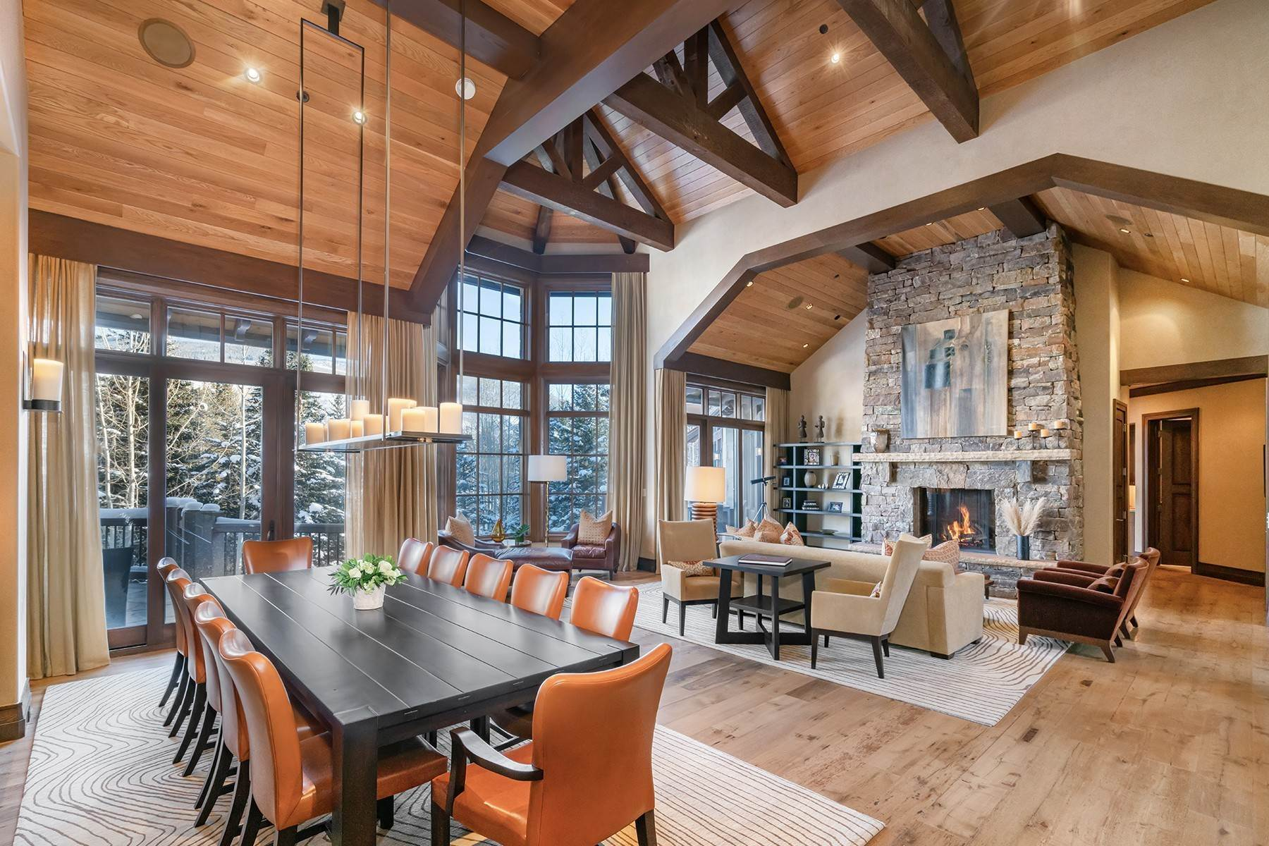 5. Single Family Homes for Active at Coveted Ski-In/Ski-Out in Vail 615 Forest Place Vail, Colorado 81657 United States