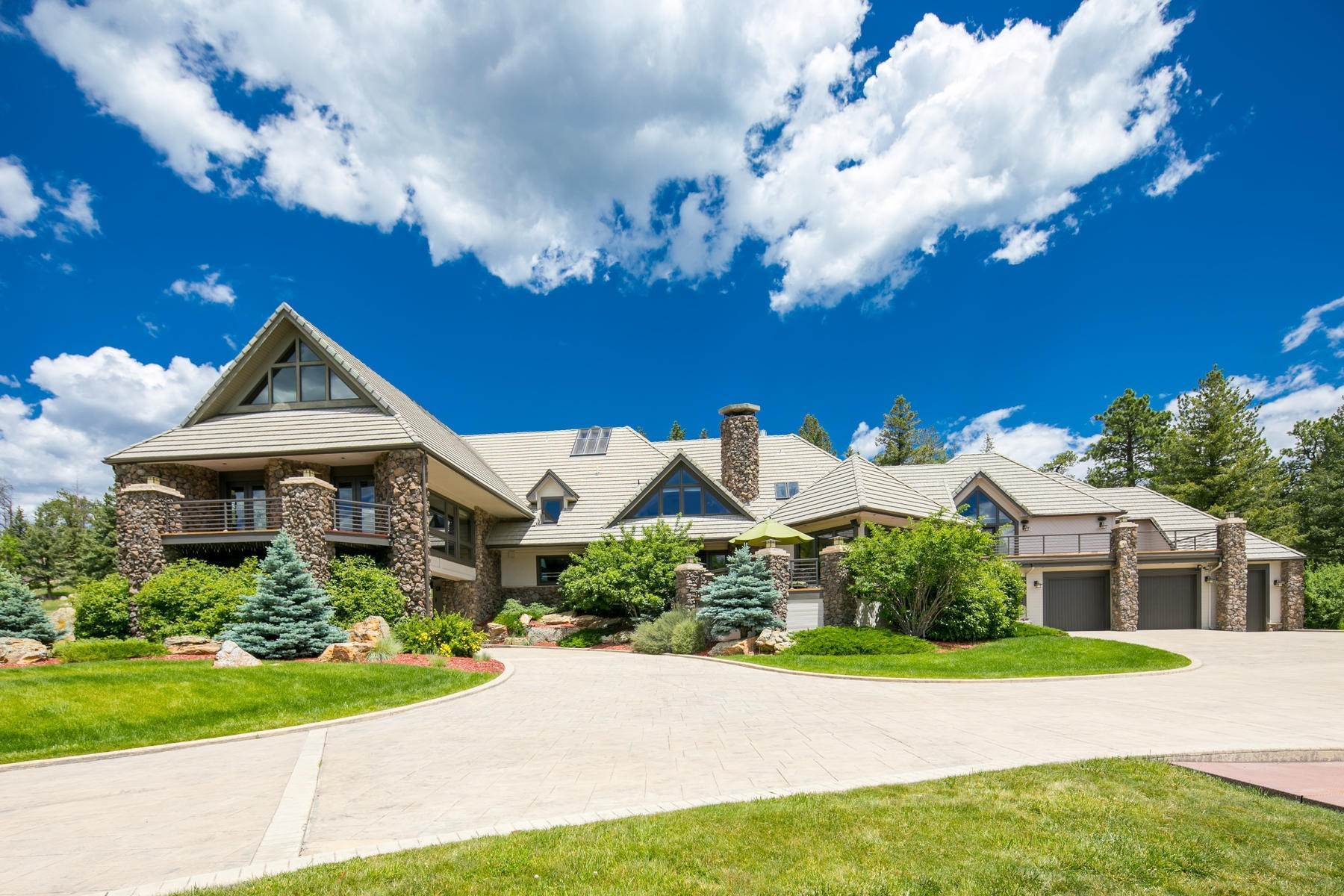 38. Single Family Homes for Active at This Luxurious Estate is More of a Lifestyle Choice, 6917 Timbers Drive Evergreen, Colorado 80439 United States