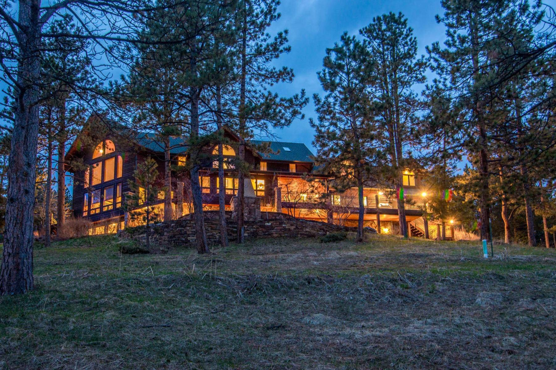 Single Family Homes for Active at Majestic Estate Nestled on 42.42 Acres 28775 Cragmont Drive Evergreen, Colorado 80439 United States