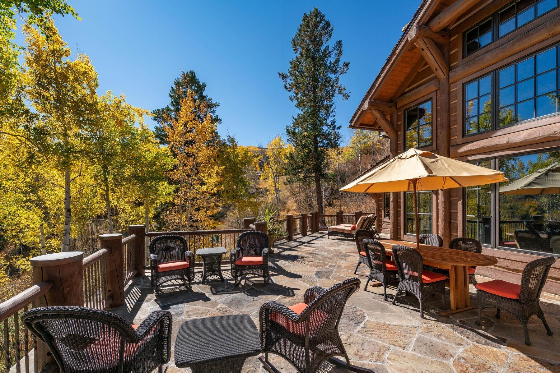 10. Single Family Homes for Active at Ski-in, ski-out residence with panoramic views 602 Bachelor Ridge Road Beaver Creek, Colorado 81620 United States