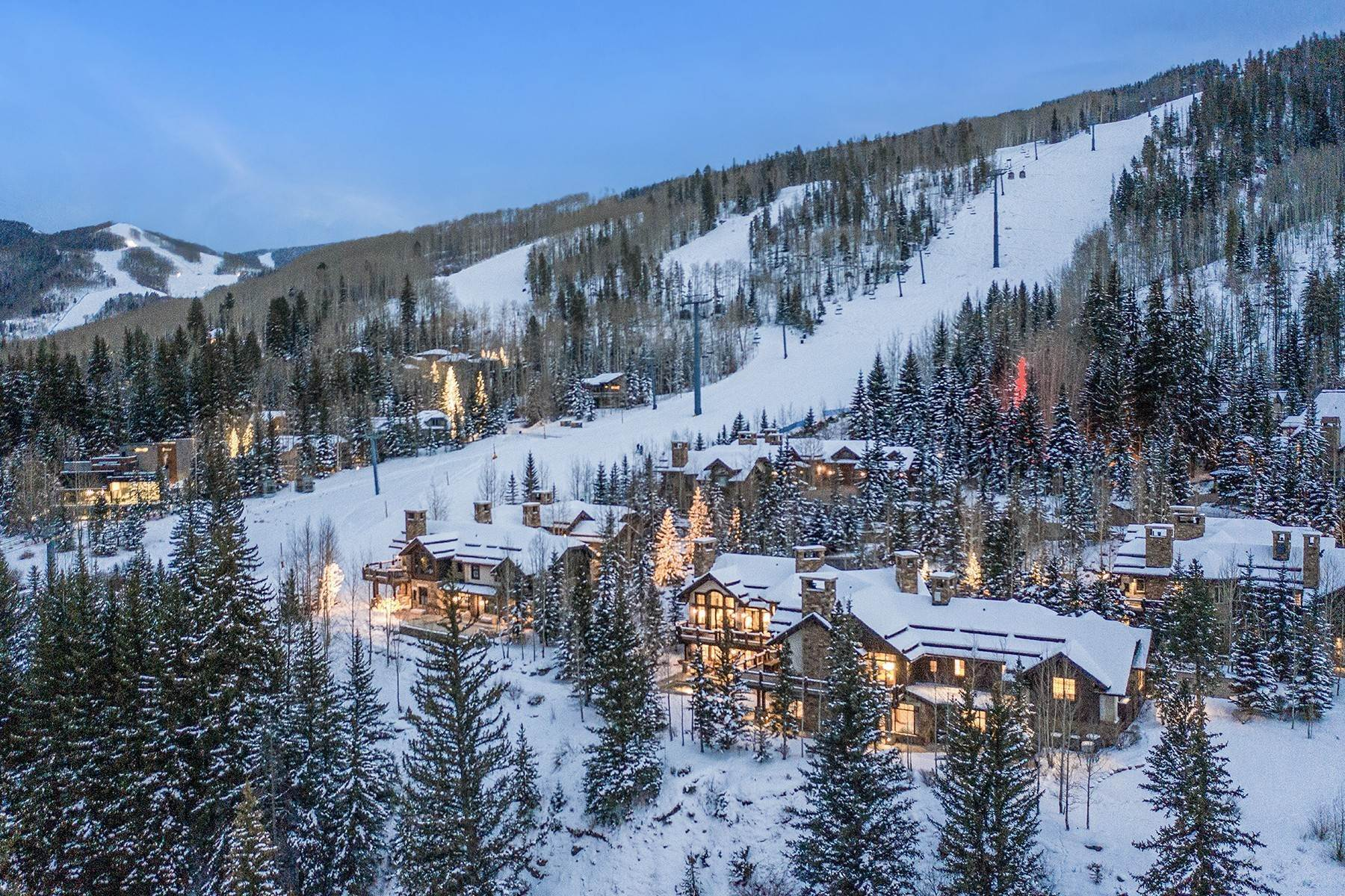 44. Single Family Homes for Active at Coveted Ski-In/Ski-Out in Vail 615 Forest Place Vail, Colorado 81657 United States