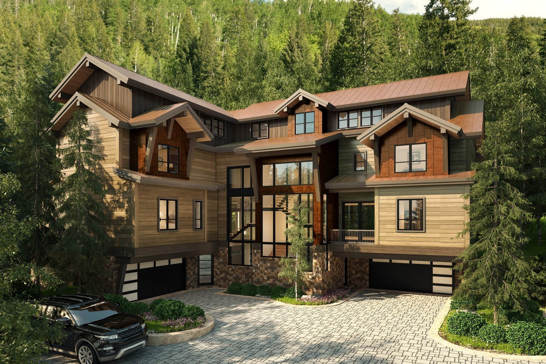 10. Single Family Homes for Active at Peregrine Villas 185 Elk Track Road Beaver Creek, Colorado 81620 United States