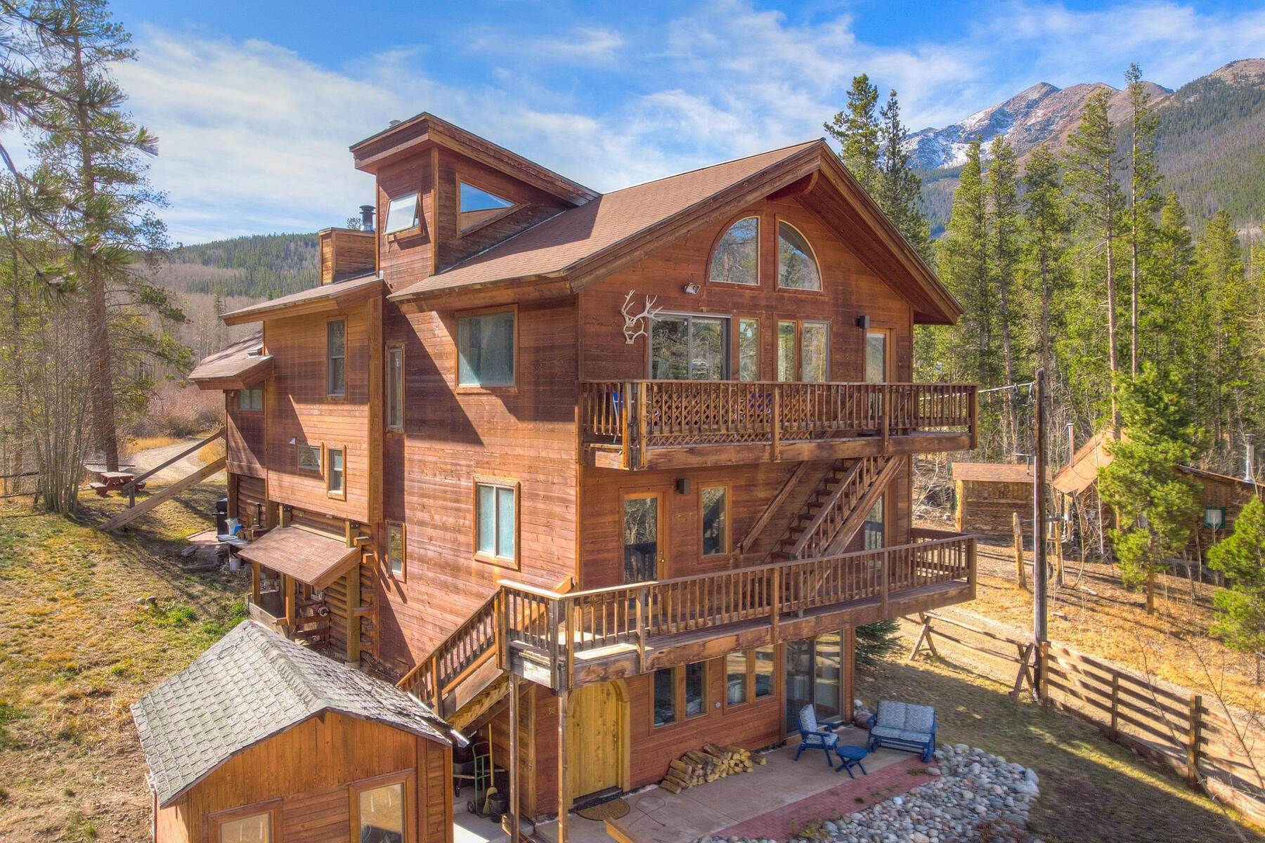 Single Family Homes at 98 E Ophir Road Frisco, Colorado 80443 United States