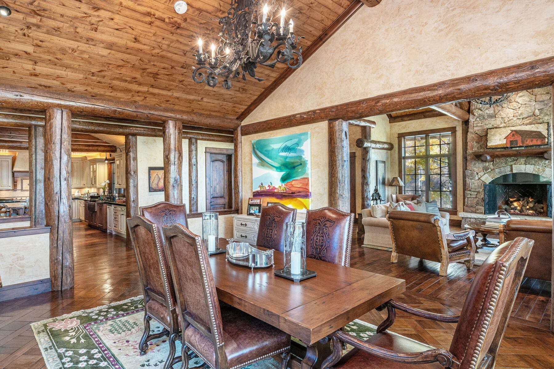16. Single Family Homes for Active at Ski-in, ski-out residence with panoramic views 602 Bachelor Ridge Road Beaver Creek, Colorado 81620 United States