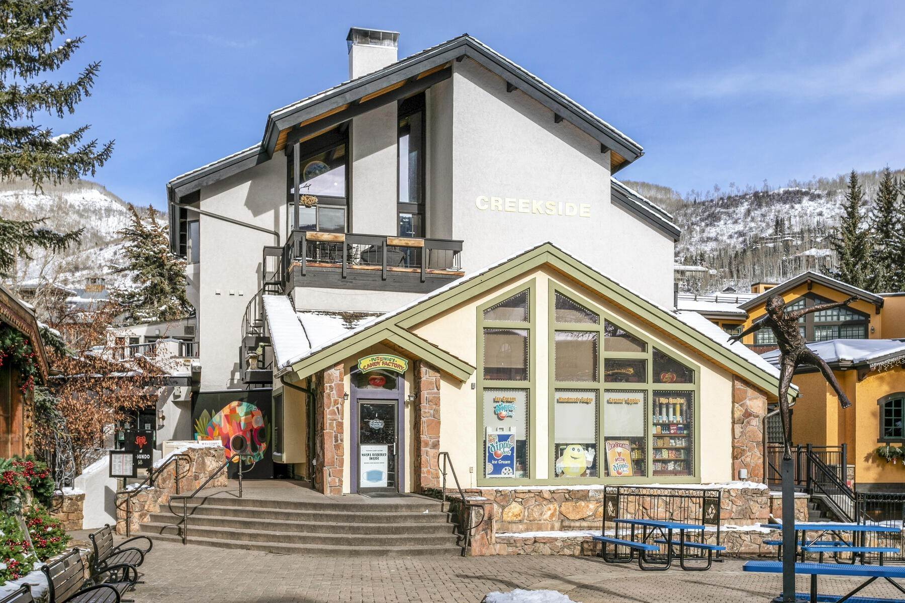 Condominiums for Active at Creekside Penthouse 223 Gore Creek Drive Vail, Colorado 81657 United States