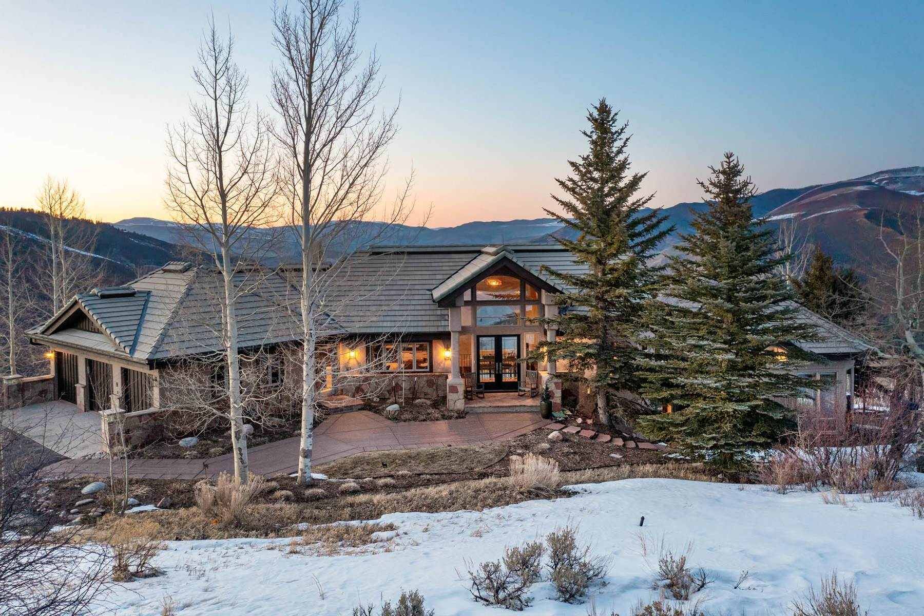 3. Single Family Homes for Active at Situated atop Casteel Ridge 240 Casteel Ridge Edwards, Colorado 81632 United States