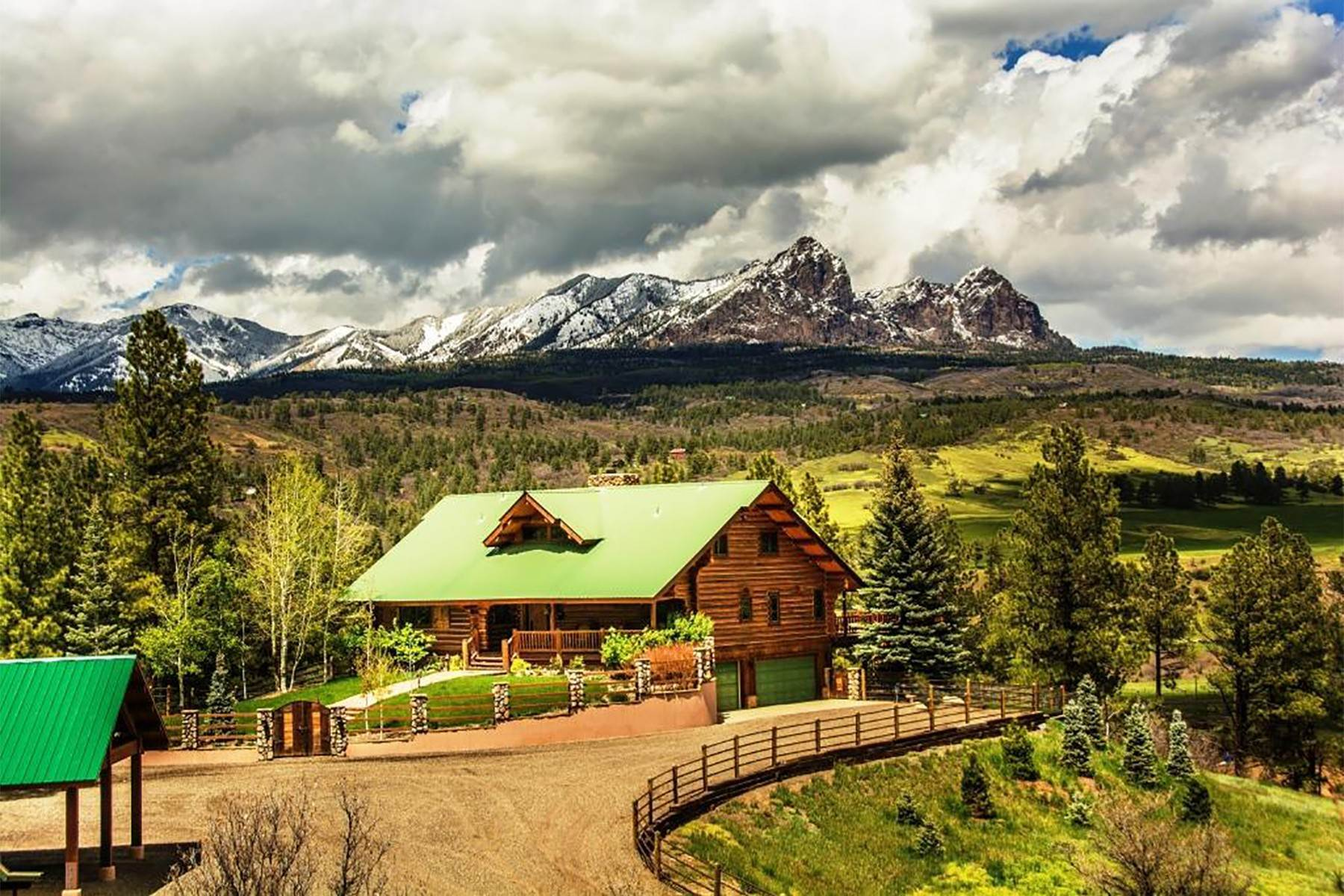 Single Family Homes for Active at Cross Bell Ranch 2851 Cty Rd 382 Pagosa Springs, Colorado 81128 United States
