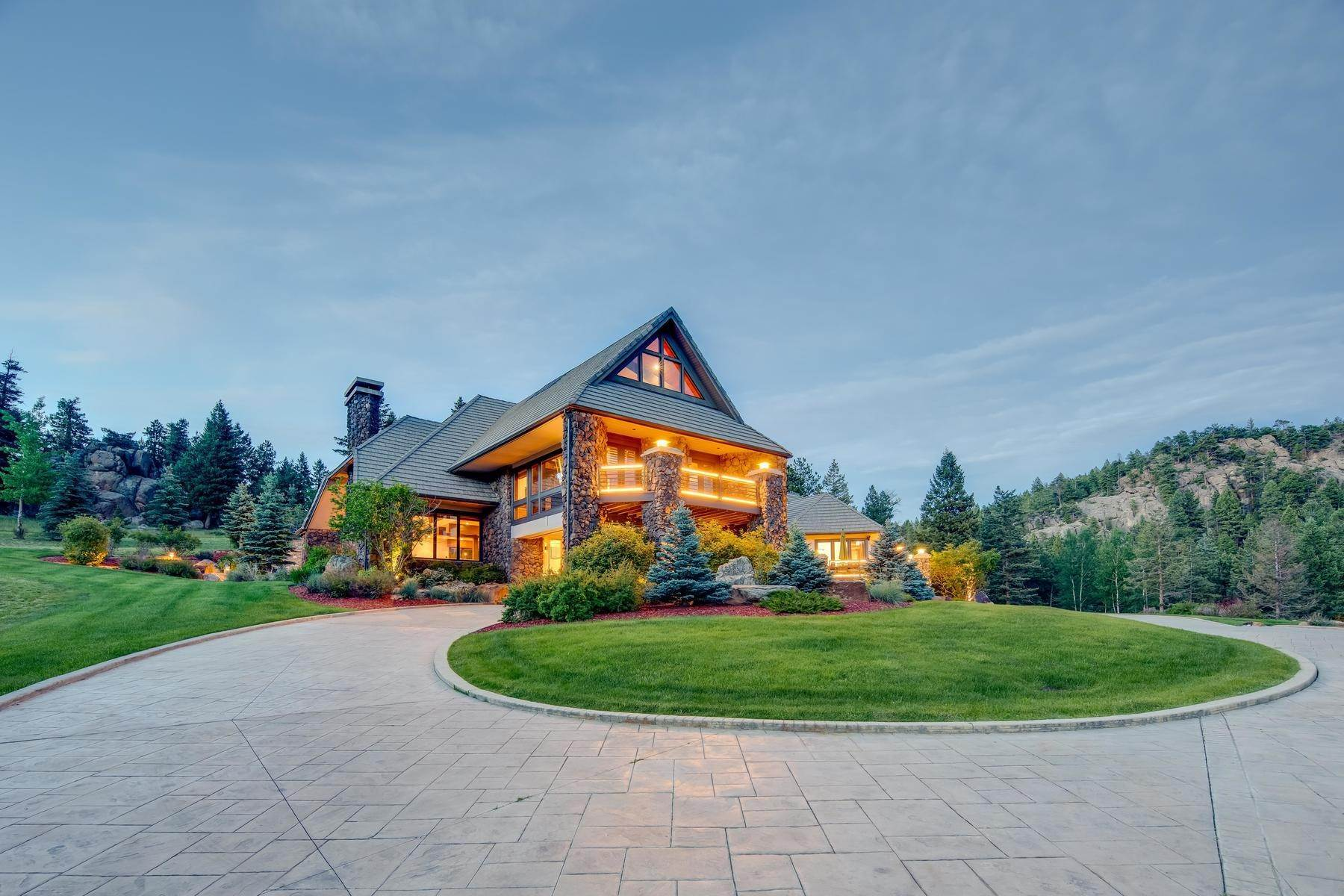 37. Single Family Homes for Active at This Luxurious Estate is More of a Lifestyle Choice, 6917 Timbers Drive Evergreen, Colorado 80439 United States