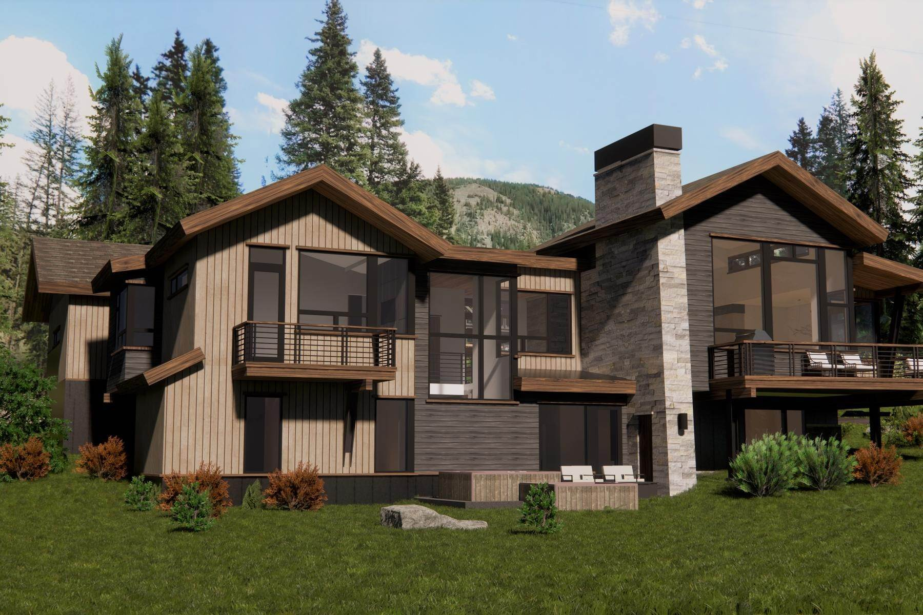 Single Family Homes at Fjall Haus 427 Whispering Pines Circle Blue River, Colorado 80424 United States